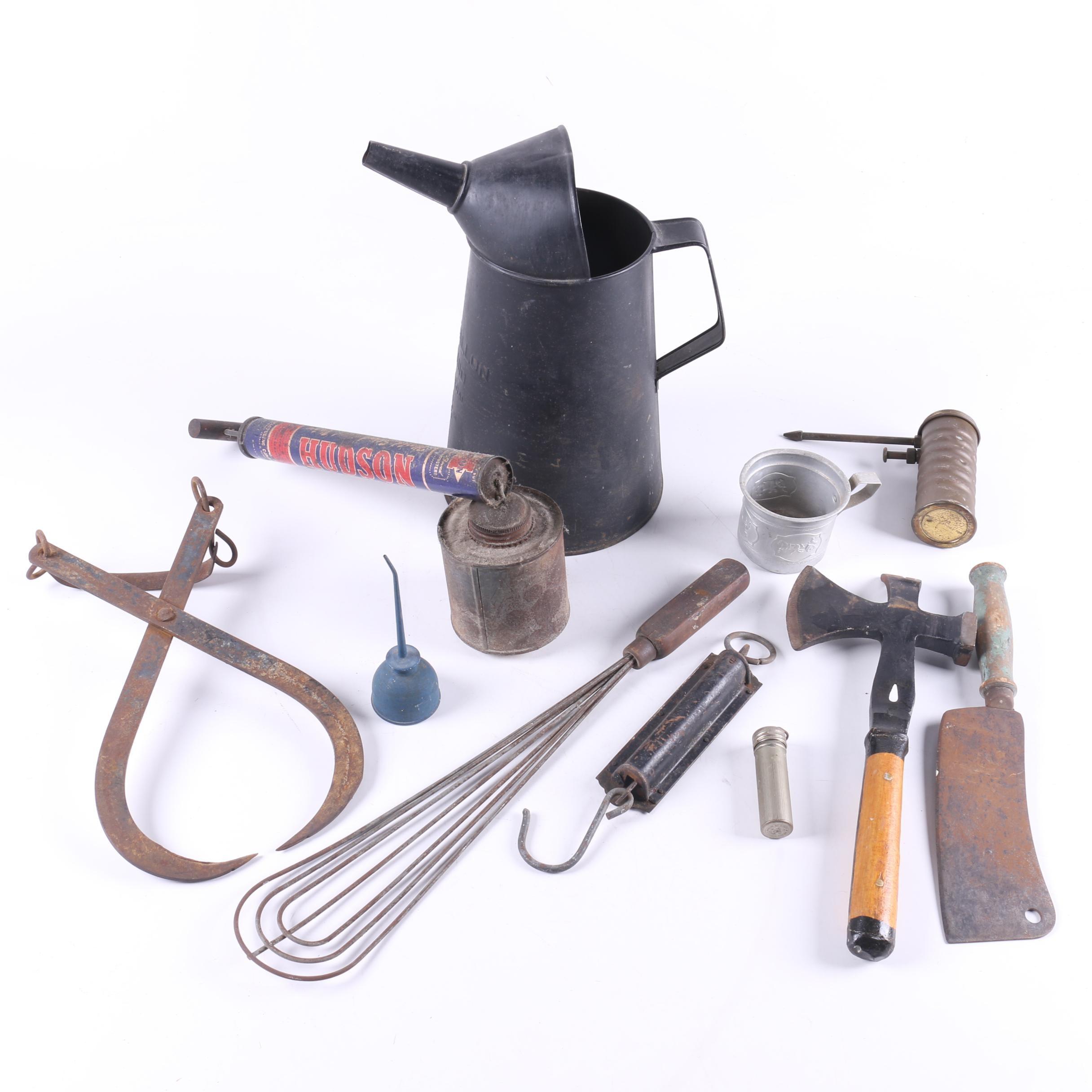 Vintage Tool Assortment