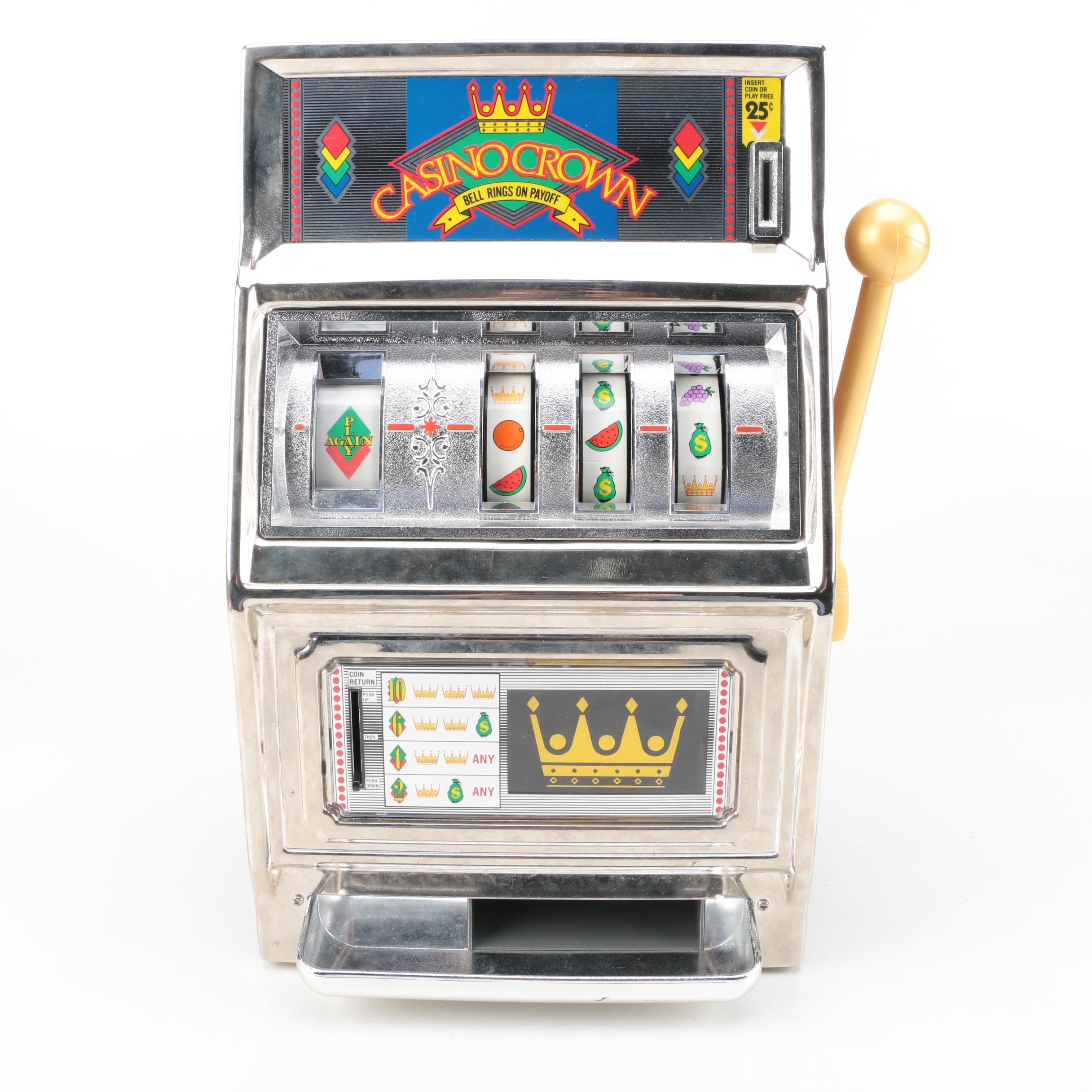"""Waco """"Casino Crown"""" Slot Machine"""