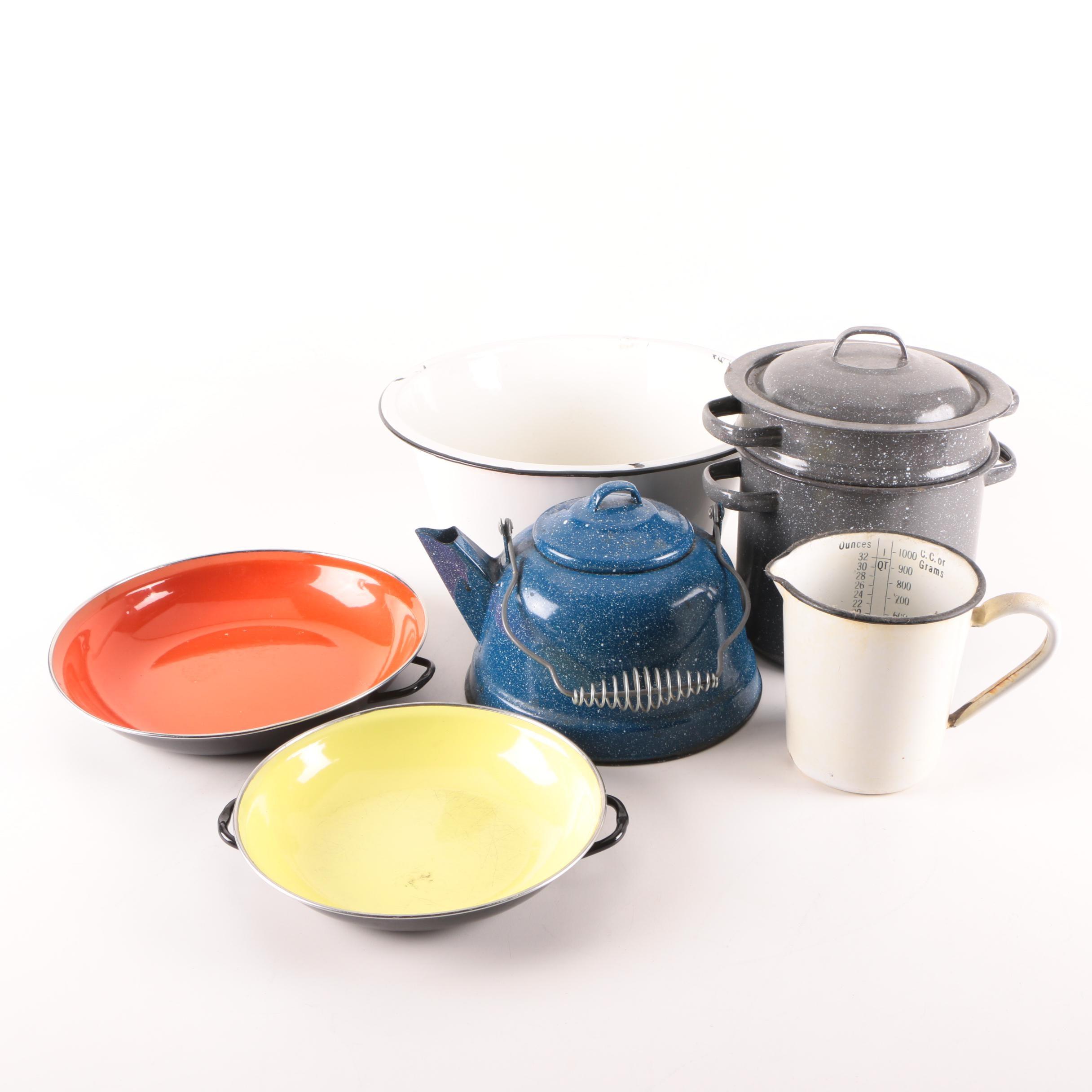 Enamel Cookware Including Emo Celje