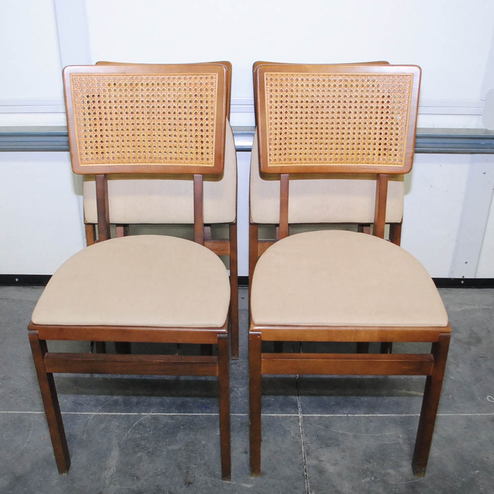 Vintage Mid-Century Side Chairs by Stakmore Company