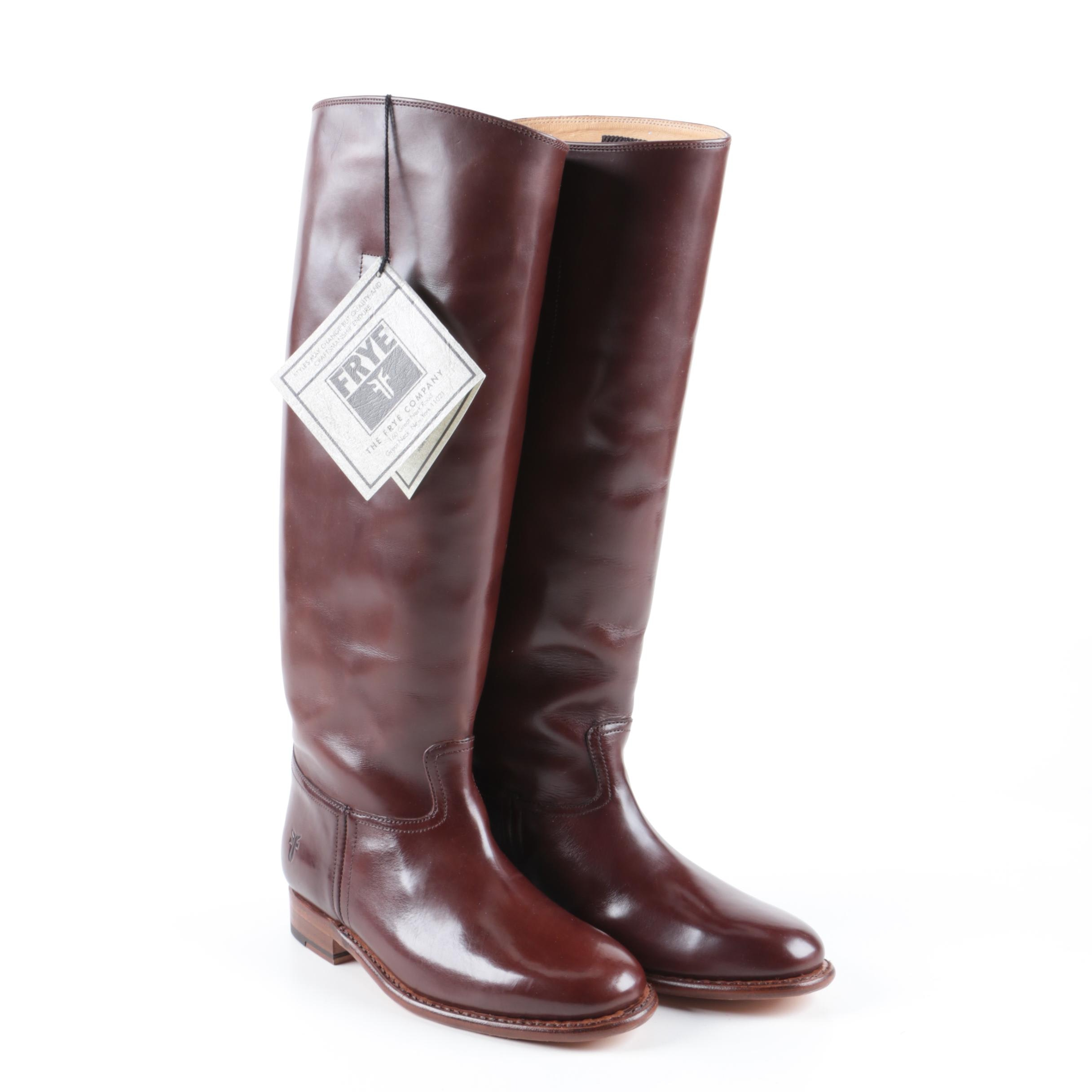 Women's Frye Abigail Leather Riding Boots