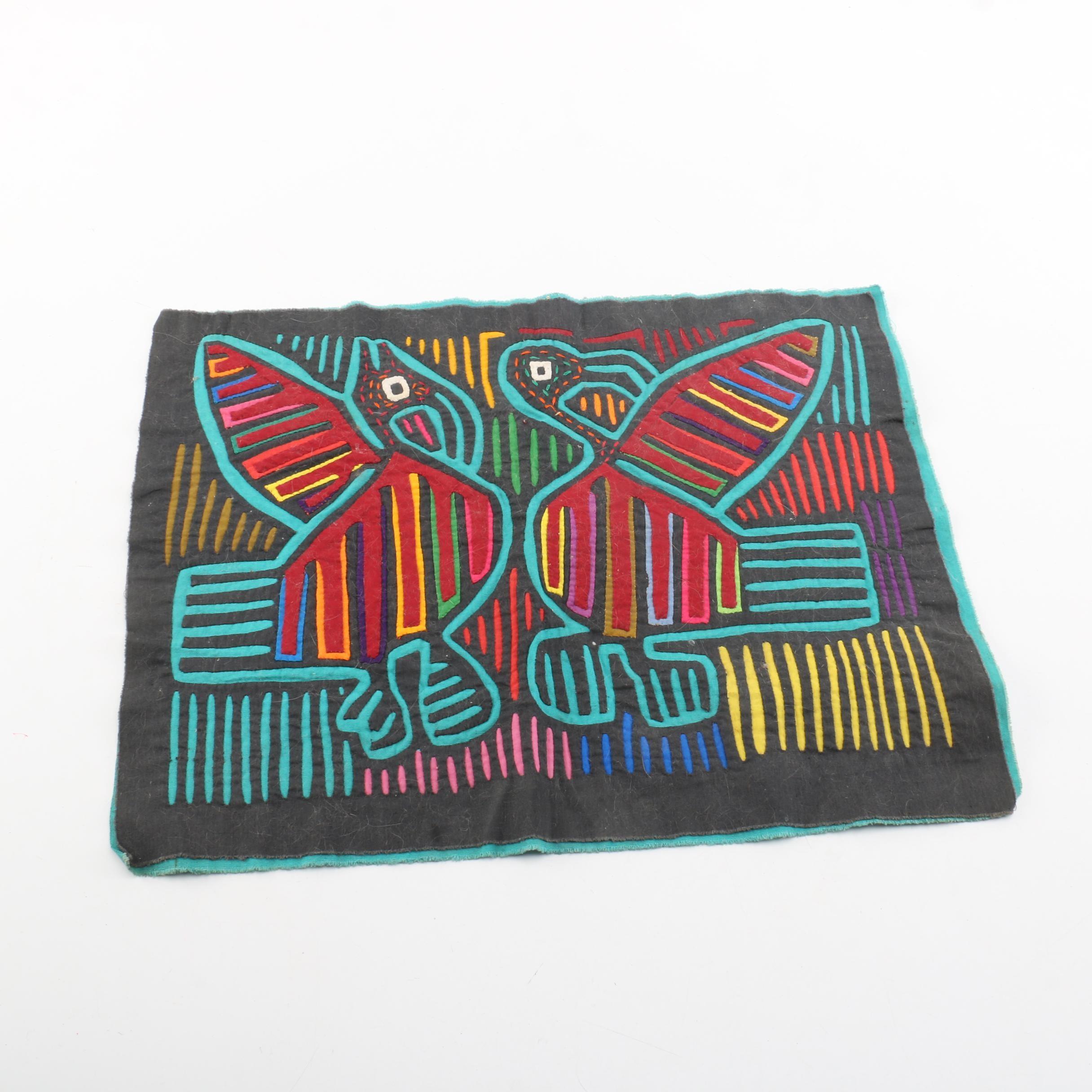 Guna Mola Textile Panel