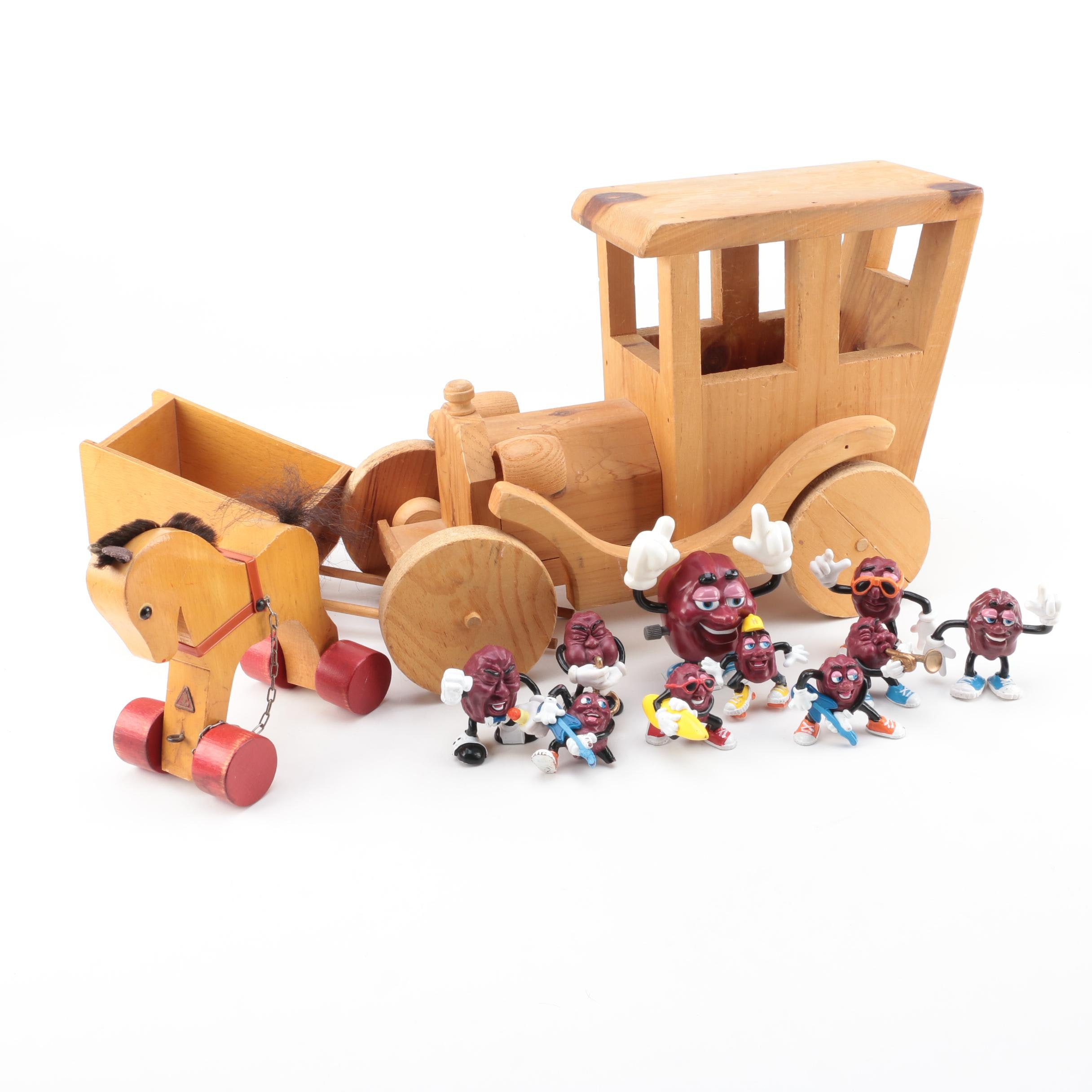 "Vintage Toys Including ""The California Raisins"""