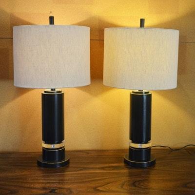 Black Metal Table Lamps