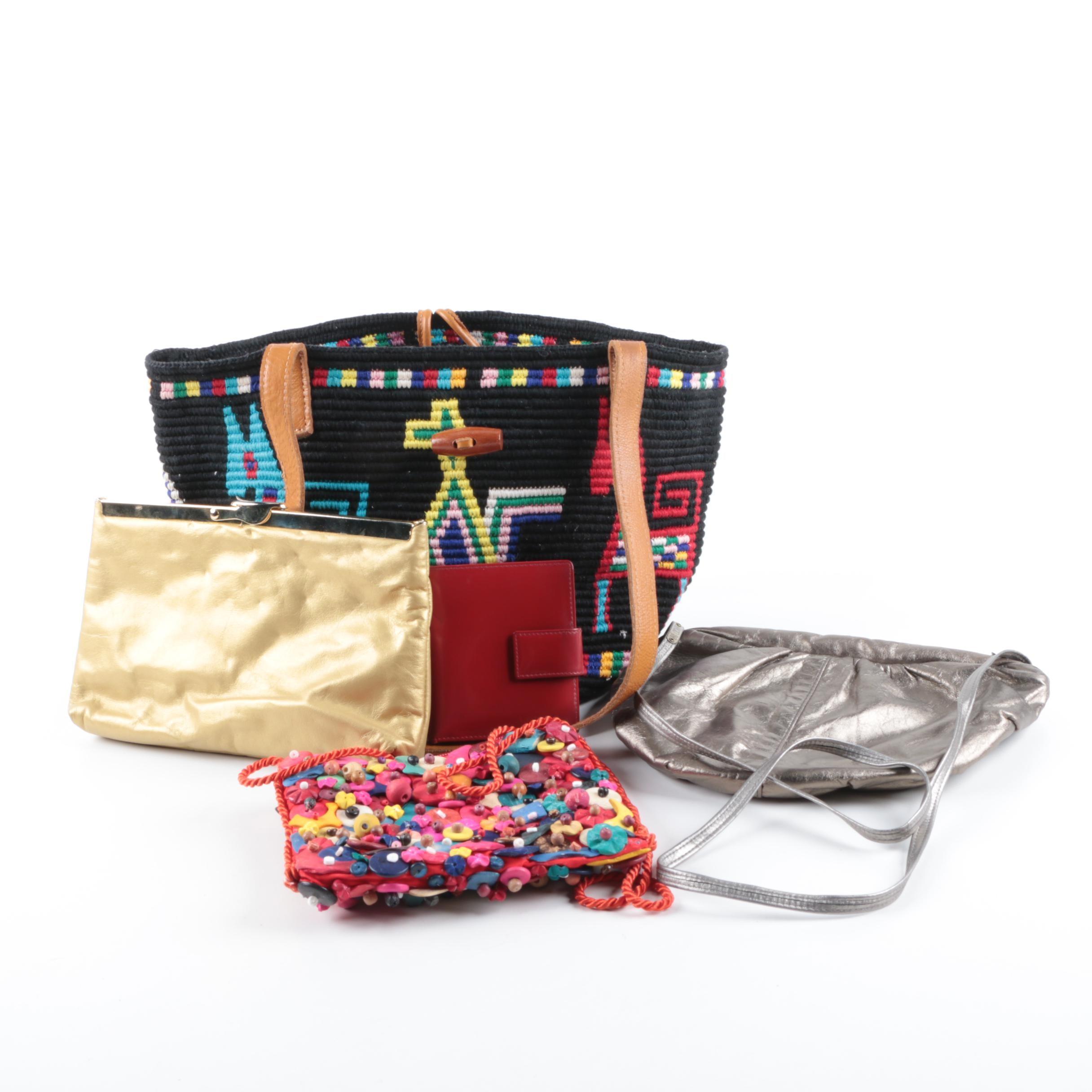 Handbags and Wallets Including Bill Dorf