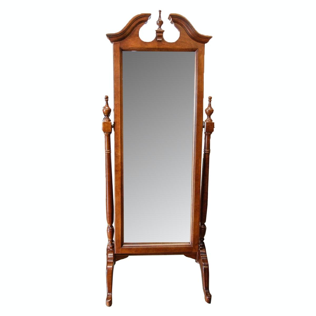 Georgian Style Full Length Cheval Mirror