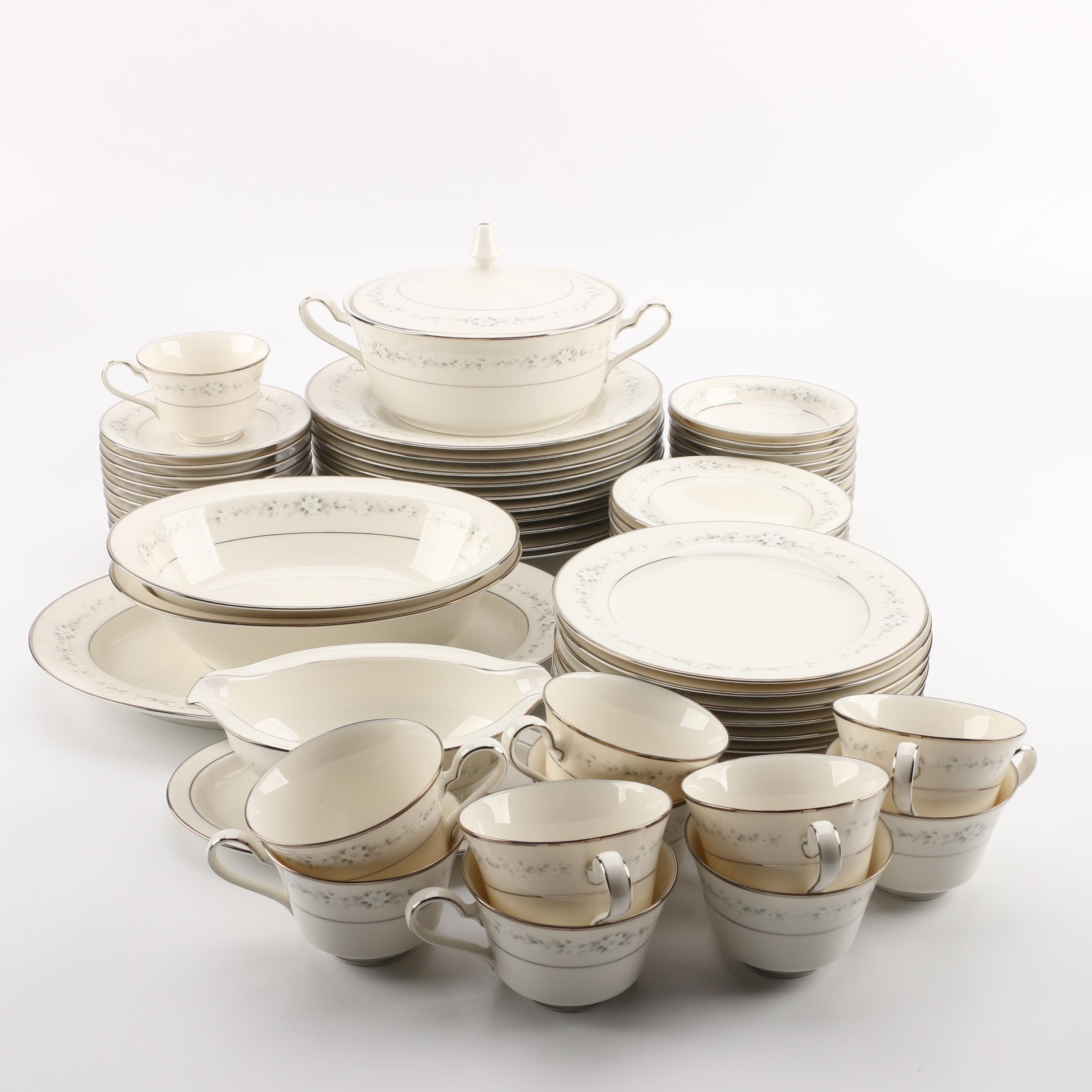 "Noritake ""Heather"" Porcelain Dinnerware"