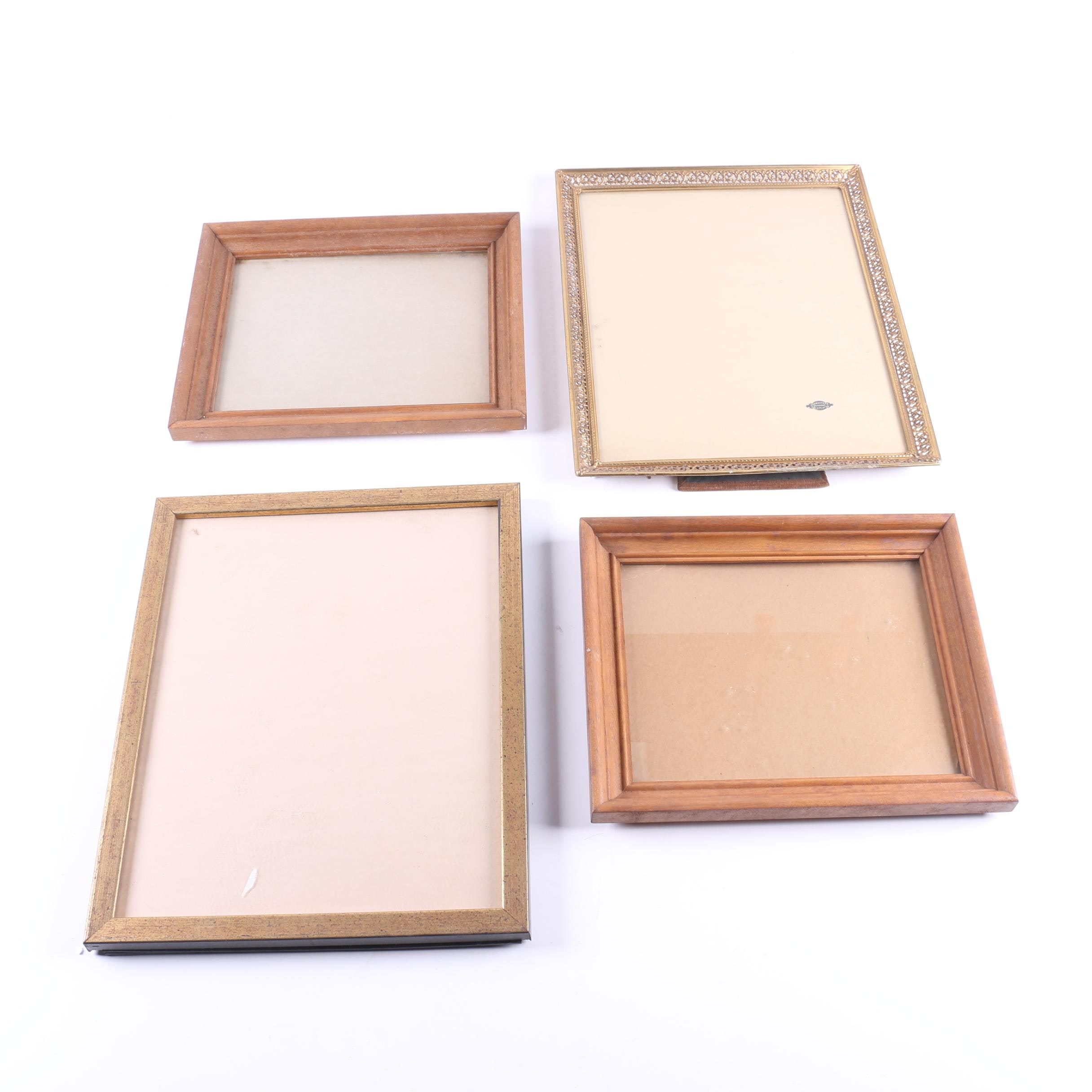 Contemporary Wood and Metal Picture Frames
