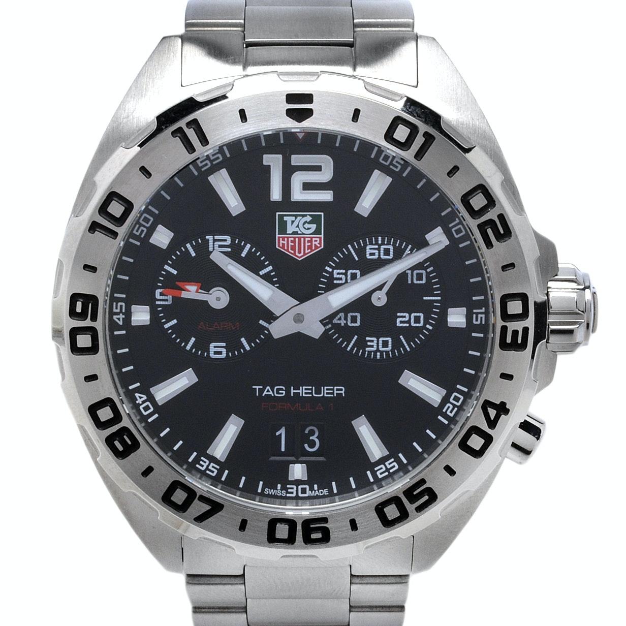TAG Heuer Formula 1 Quartz Alarm Wristwatch