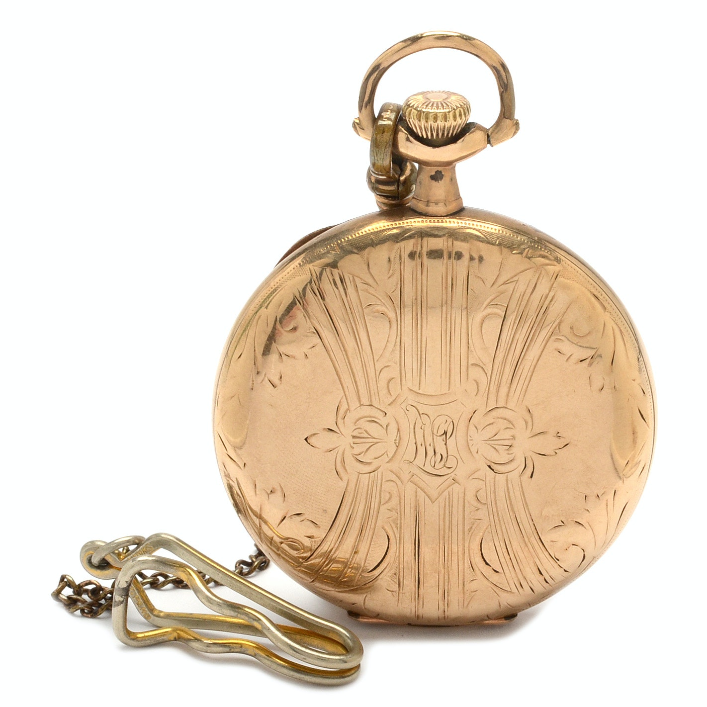 Antique Hunting Case Pocket Watch