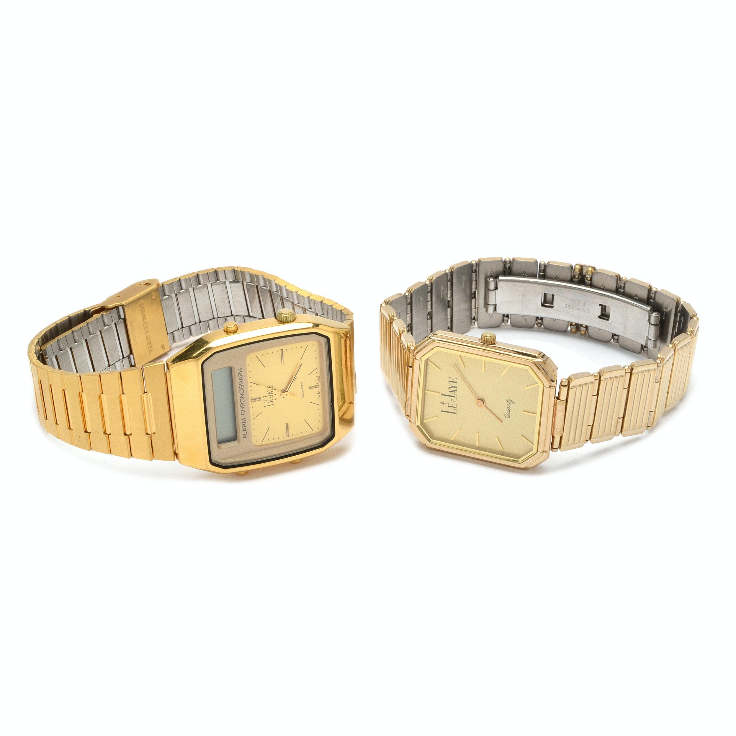 Vintage Le Jaye Wristwatches