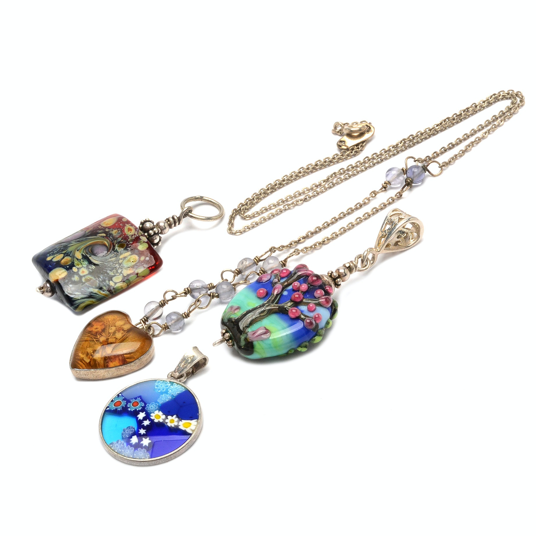 Assorted Fashion Pendants and Necklace