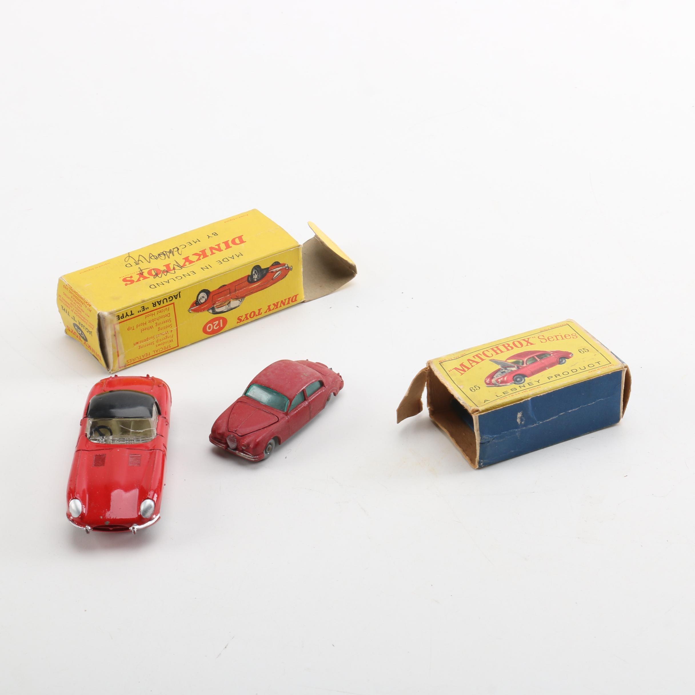 Jaguar Miniature Scale Replica Die-Cast Cars