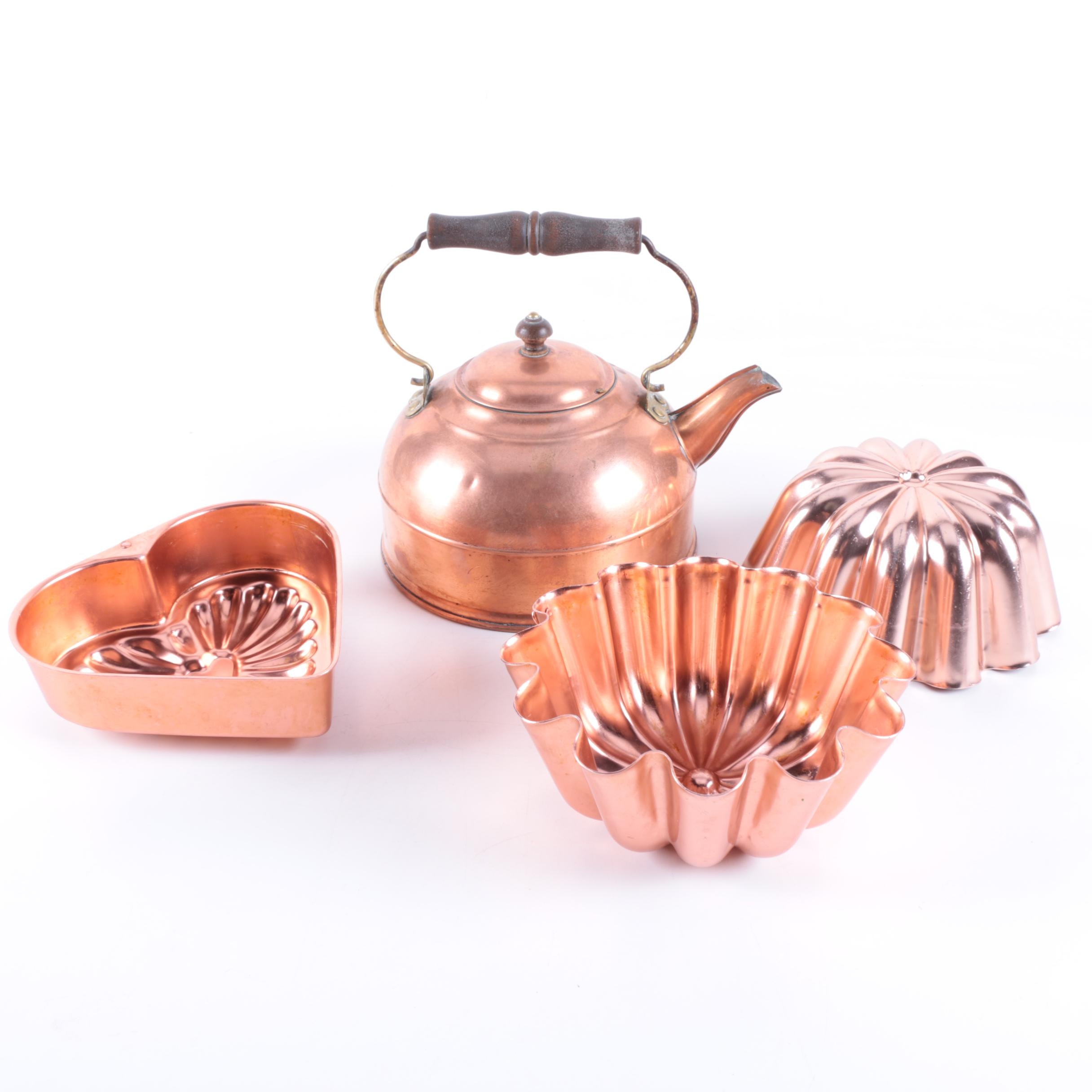Copper Kettle and Molds