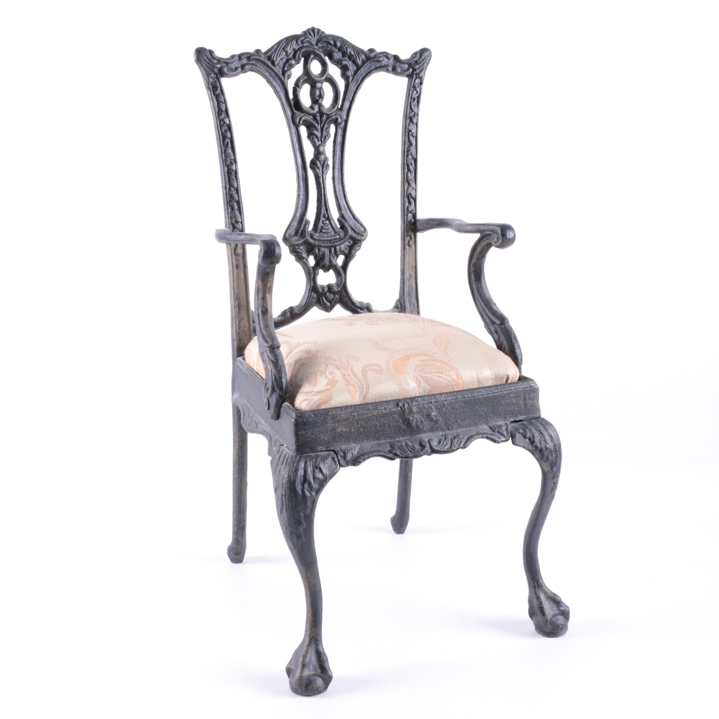 Miniature Cast Iron Chair ...