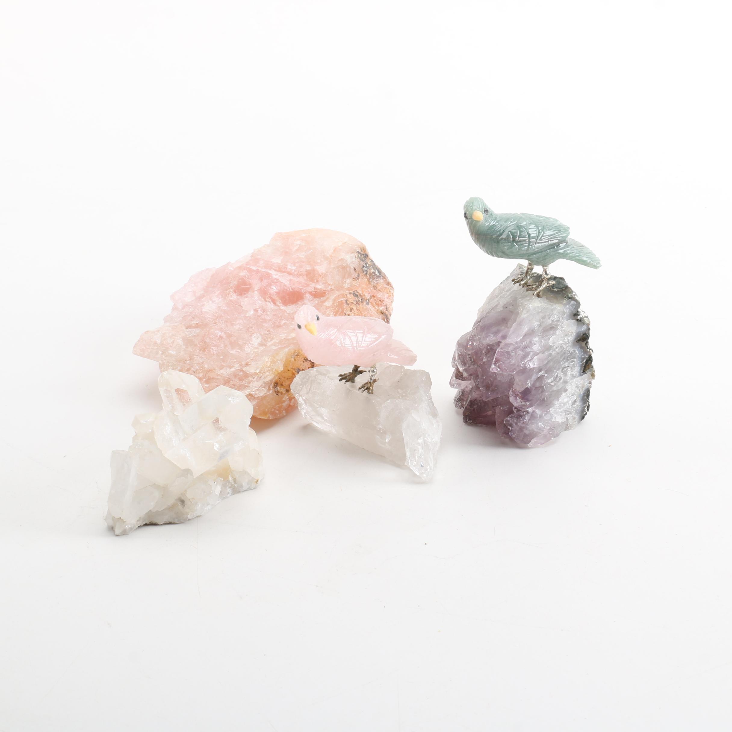 Quartz Mineral Specimens