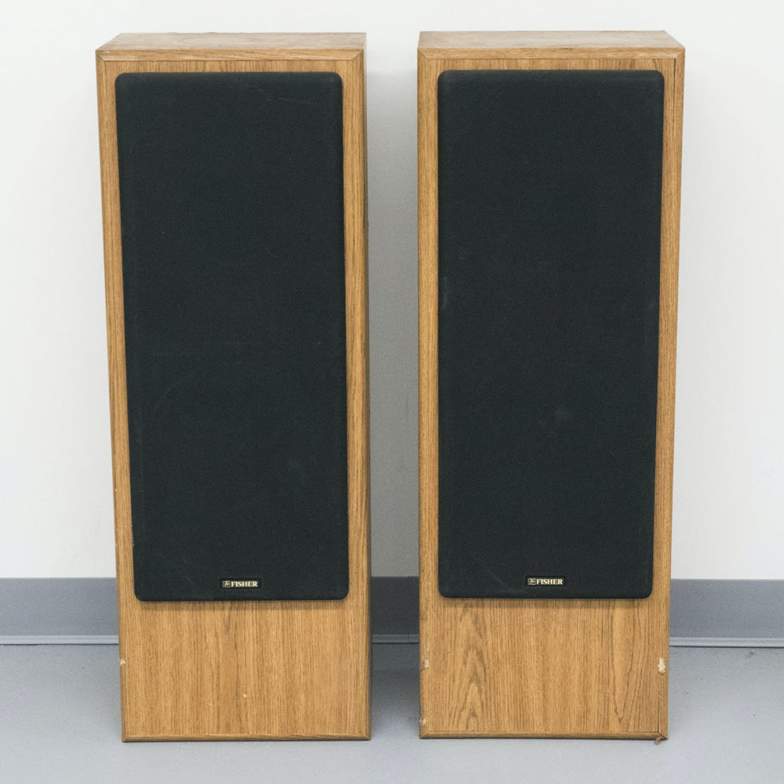 Vintage Fisher STV-9005 Floorstanding Speakers