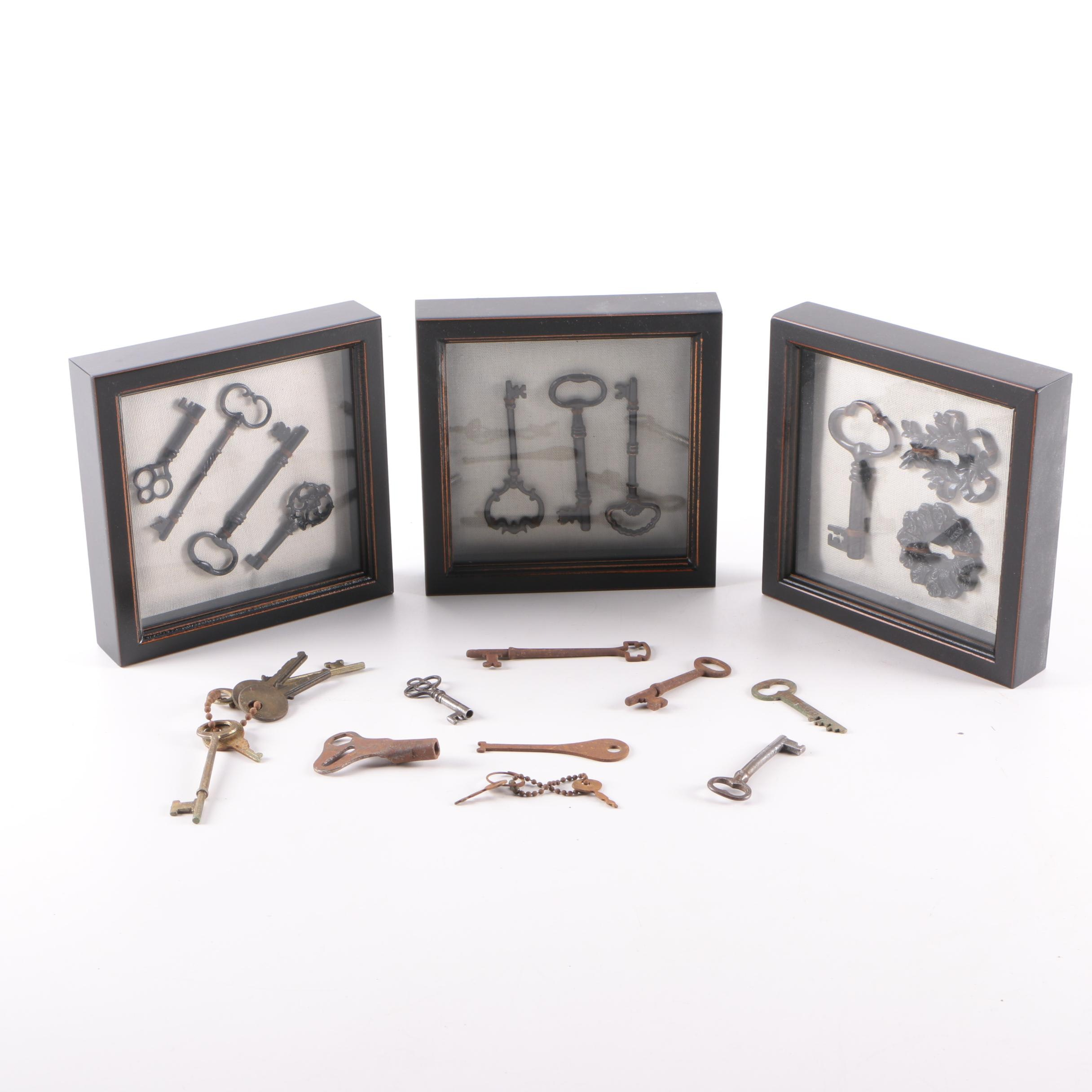 Framed Keys and Key Collection