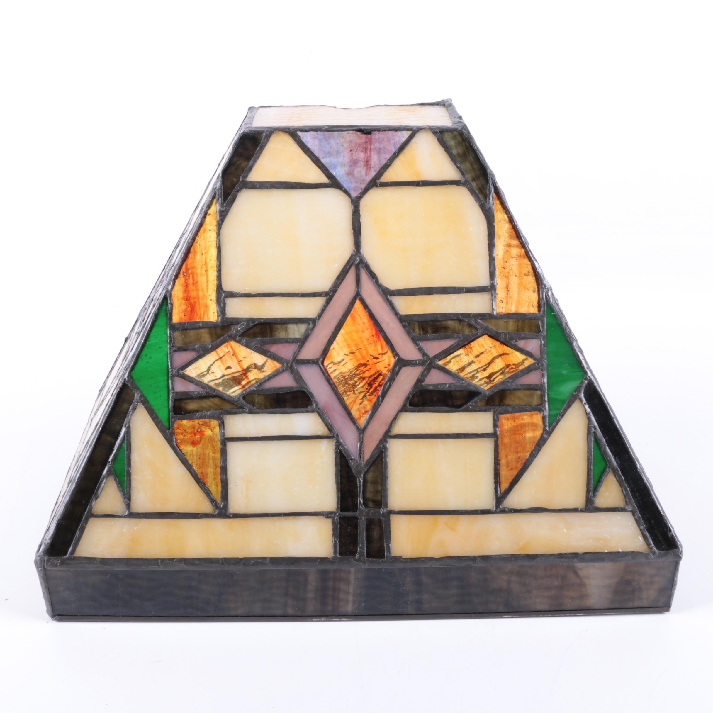 Leaded Glass Sconce Shade