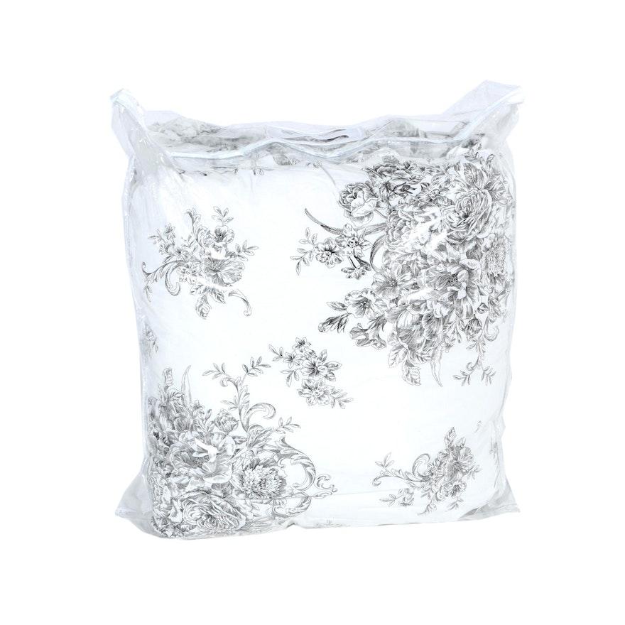 Black and White Toile Comforter : EBTH