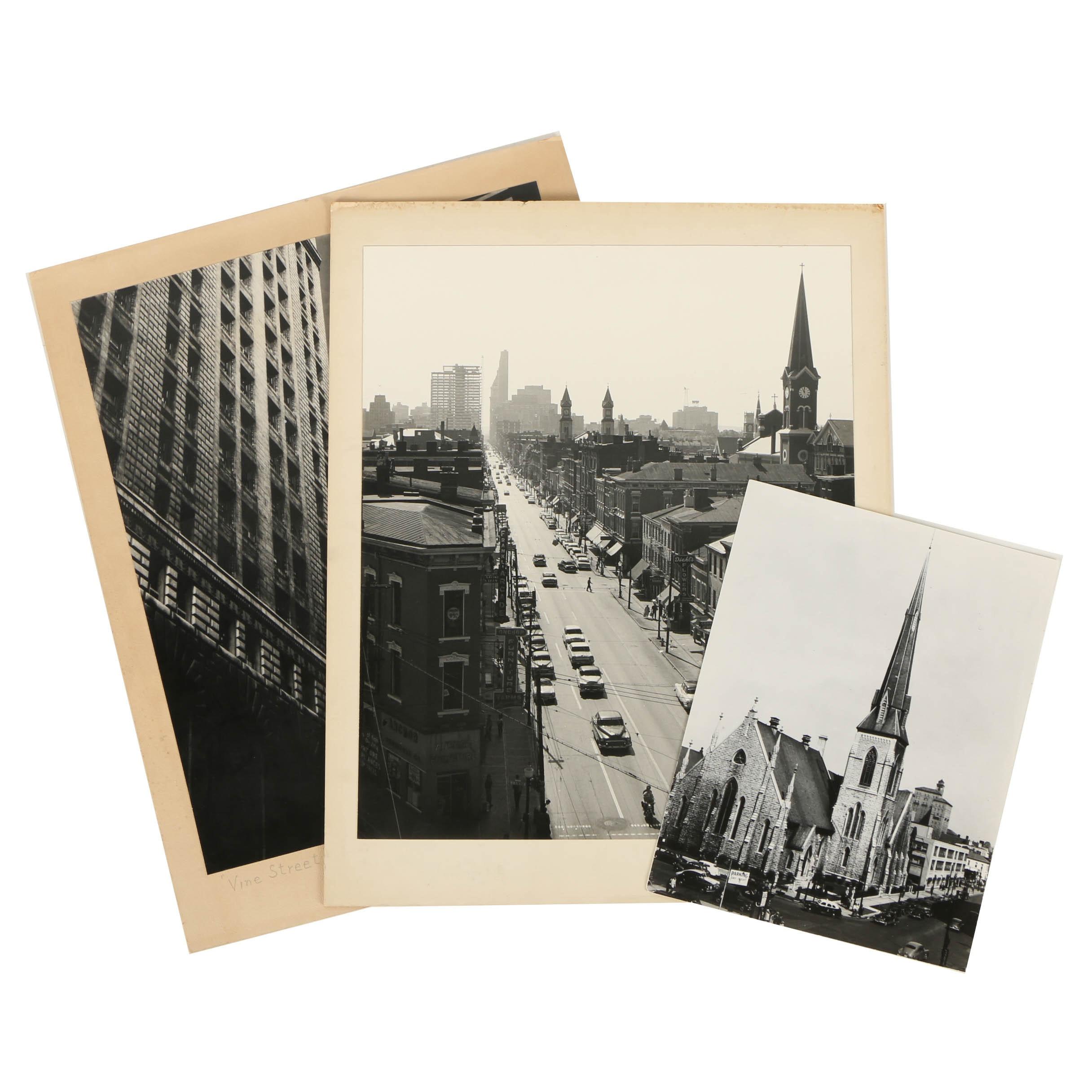 Don Dover Photographs including Cincinnati Landmarks