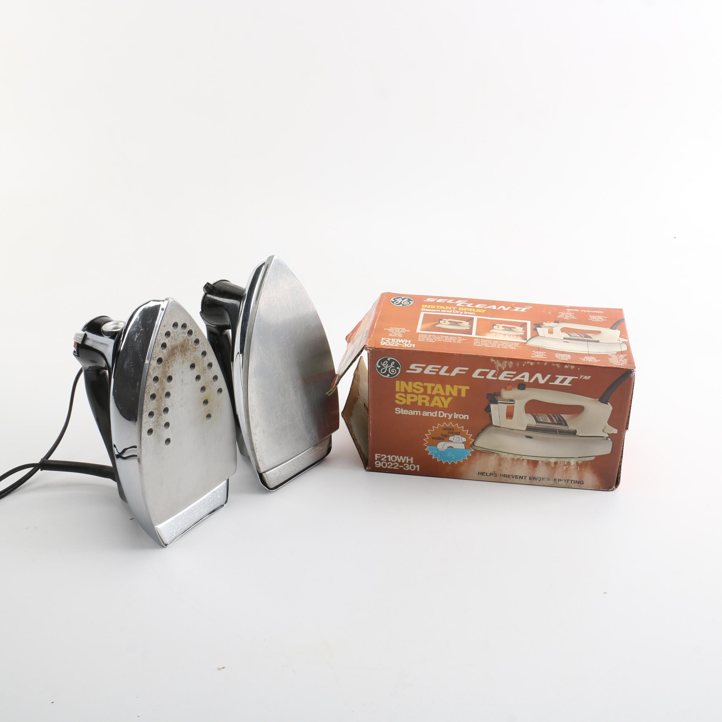 "Vintage Clothes Iron Featuring Black and Decker ""The Classic"""