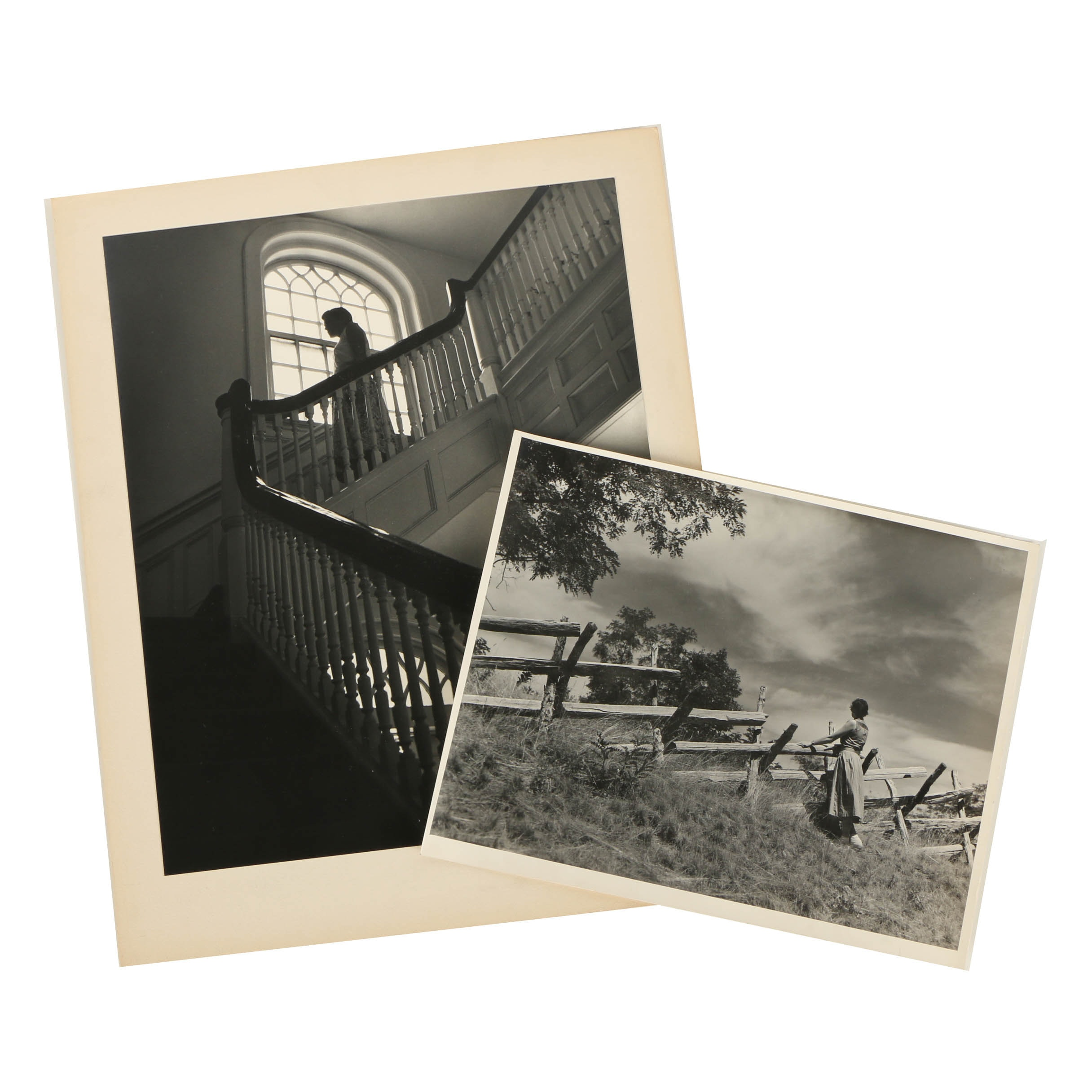 Two Don Dover Black and White Photographs