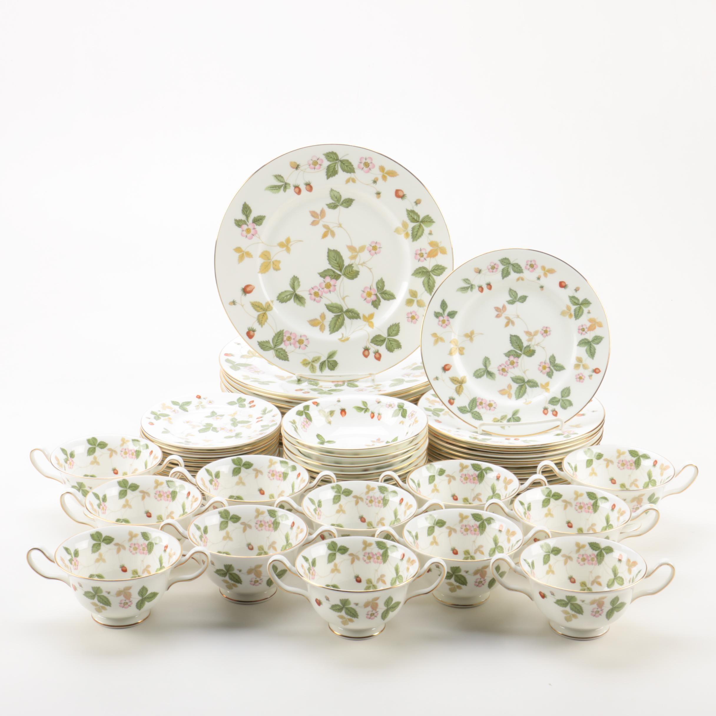 Wedgwood 'Wild Strawberry' Bone China Tableware