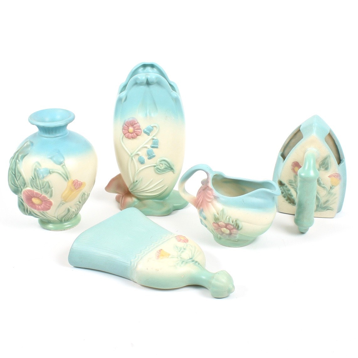 "Hull ""Bowknot"" Pottery Tableware and Decor"