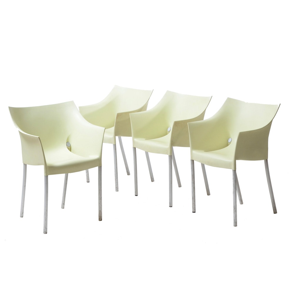 "Set of Four ""Dr. No"" Chairs by Phillipe Starck for Kartell"