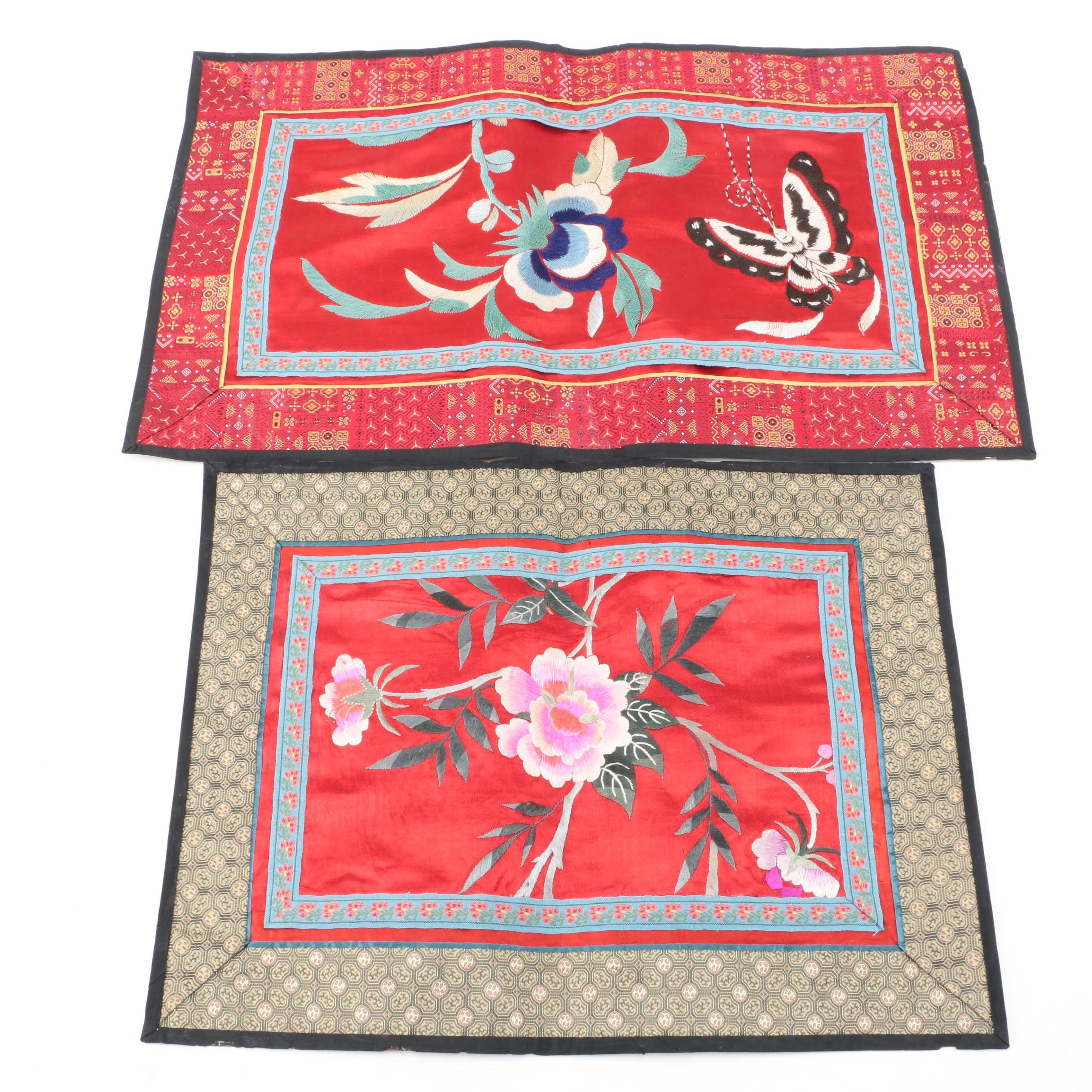 Chinese Silk Embroidery Panels