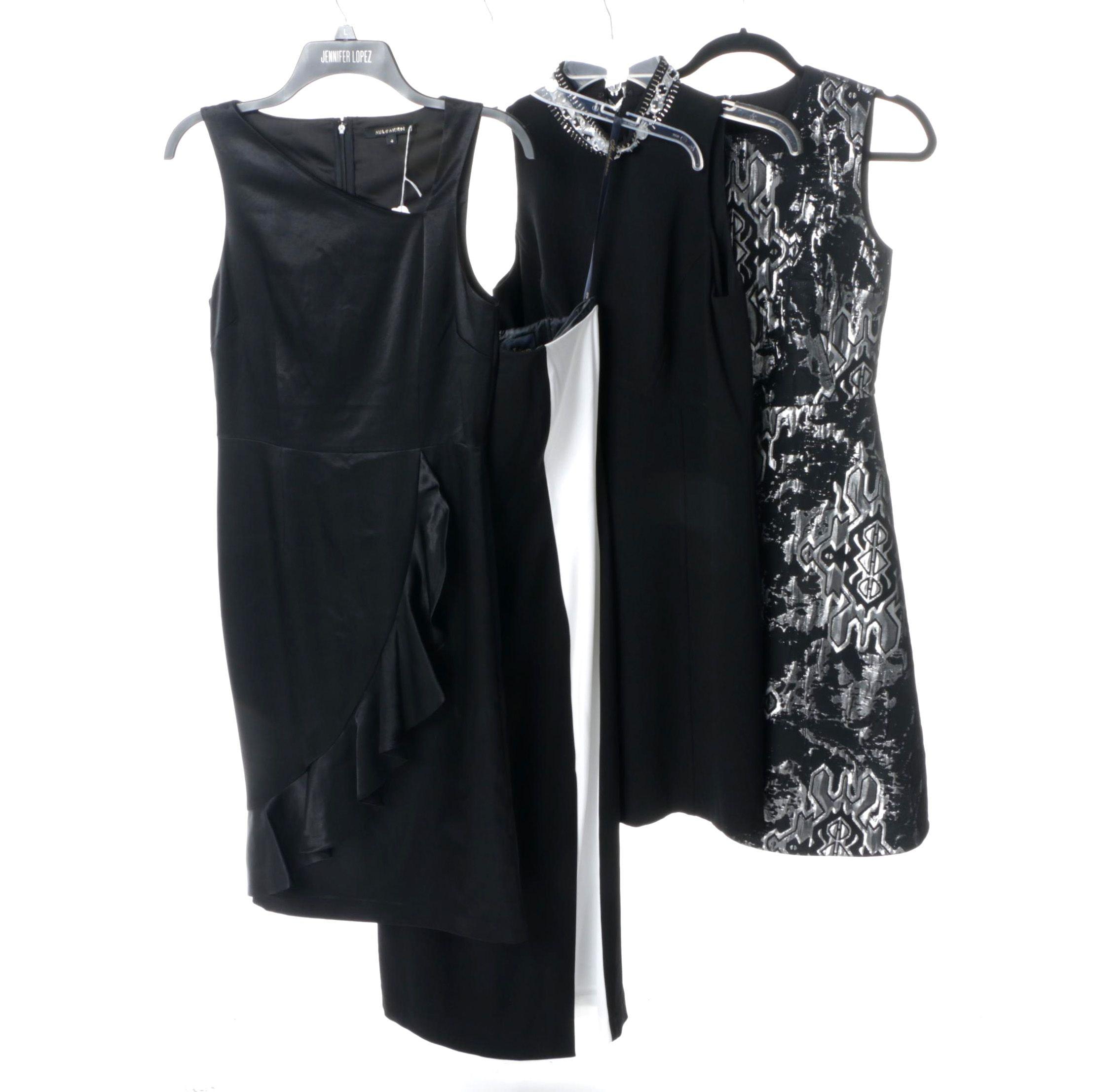 Black Cocktail Dresses Including Vivenne Tam