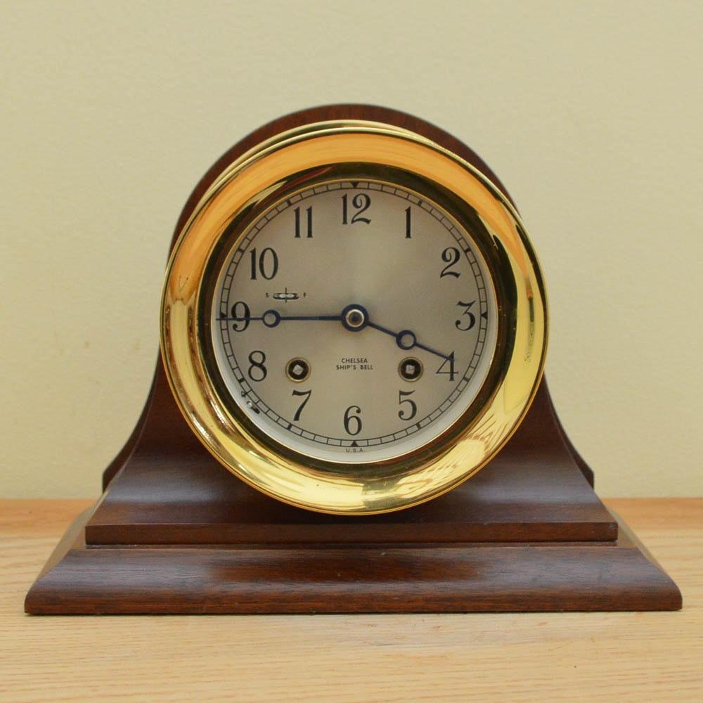 Chelsea Ship's Bell Mantel Clock