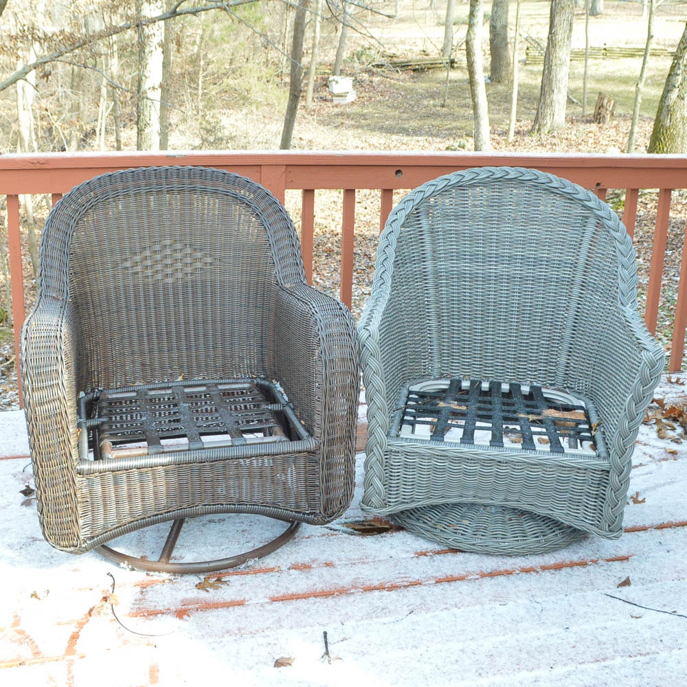 Woven Patio Rockers by Summer Classics