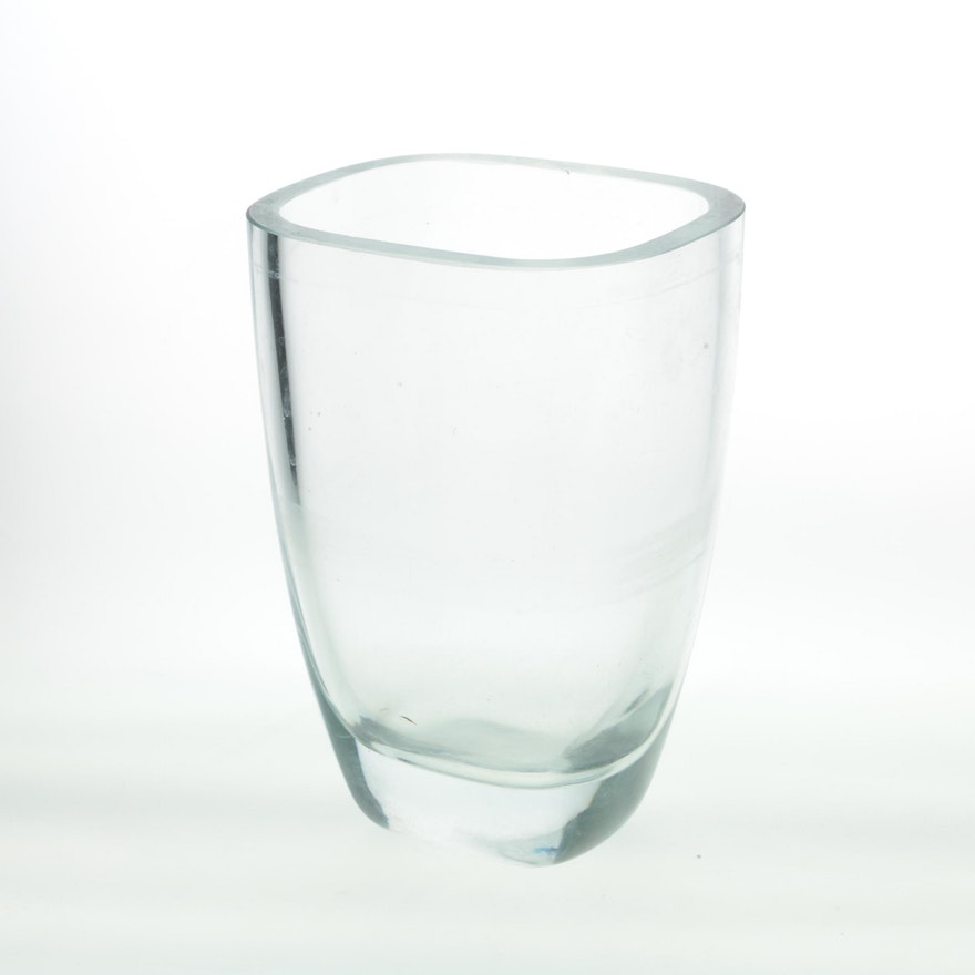 Contemporary Glass Vase Ebth