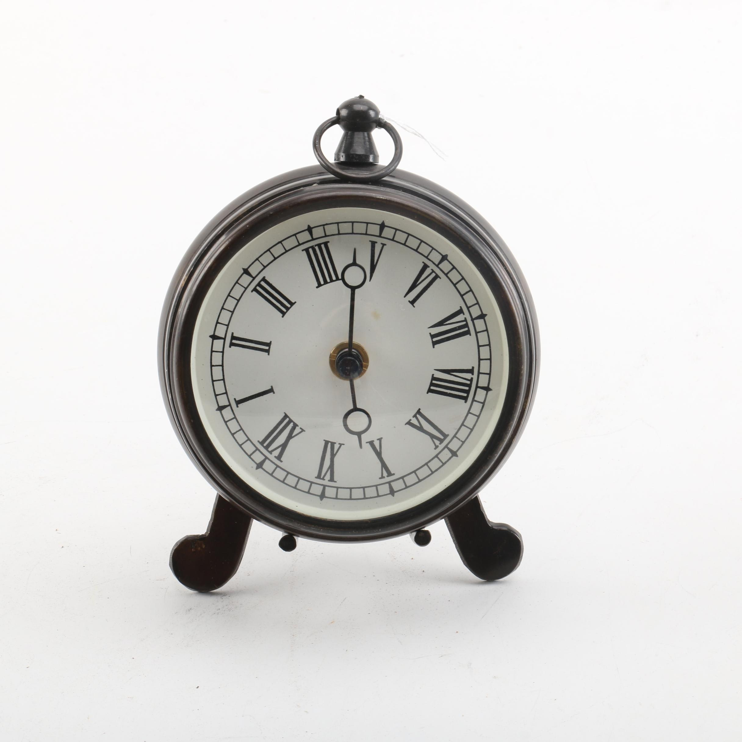 Metal Clock with Stand