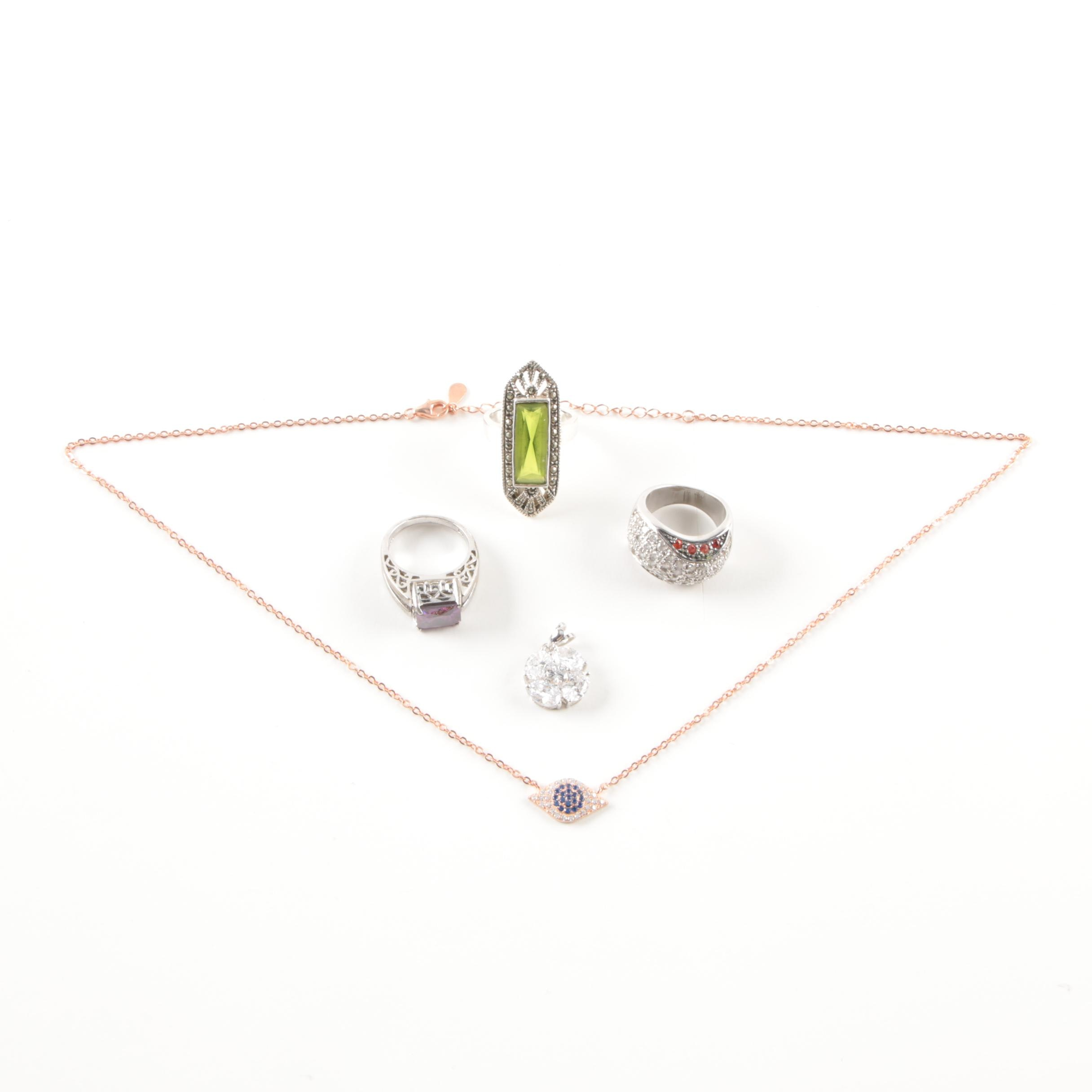 Sterling Silver Jewelry Selection