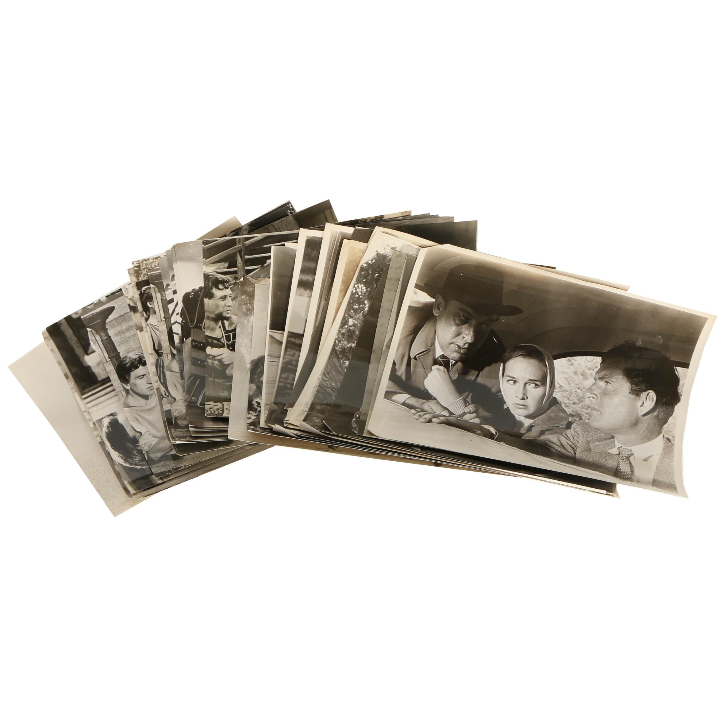 Mid 20th Century British Film and Celebrity Photographs