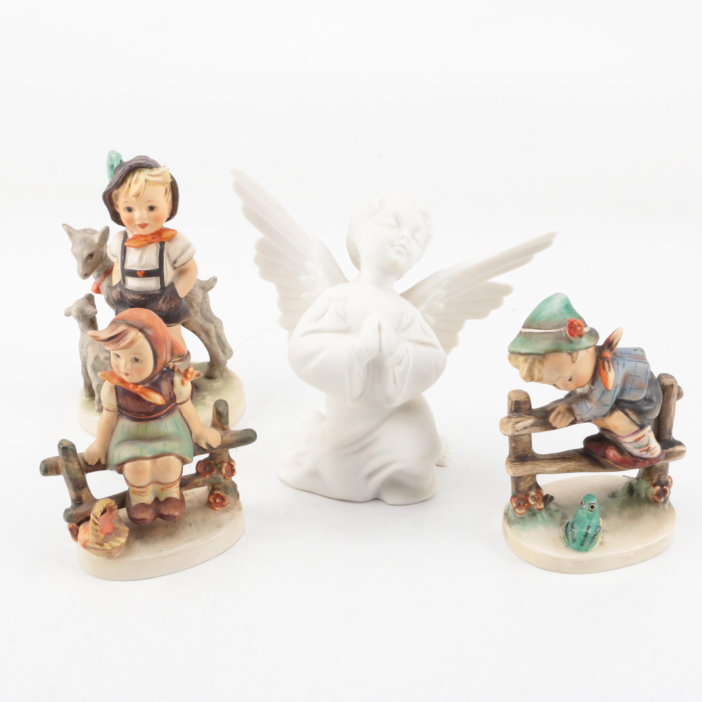 """""""Retreat to Safety"""" and """"Just Resting"""" Hummel Figurines"""