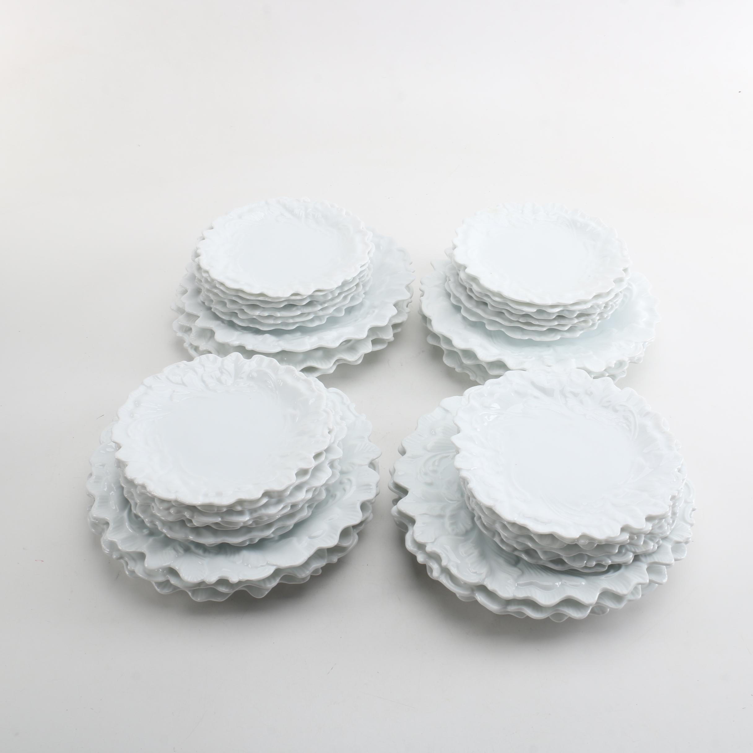 White Porcelain Tableware