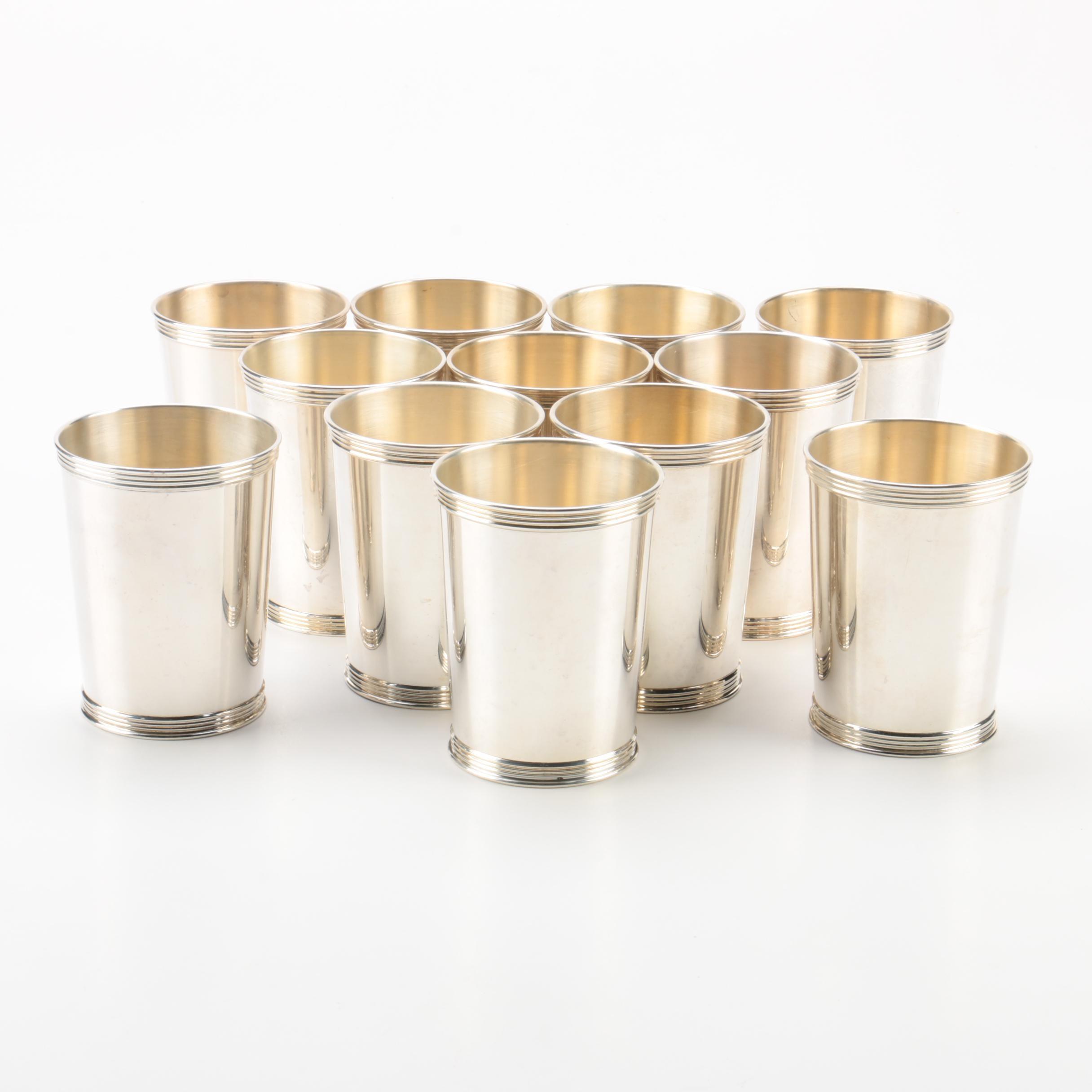 Benjamin Trees & Dolfinger's Inc Sterling Silver Mint Julep Cups