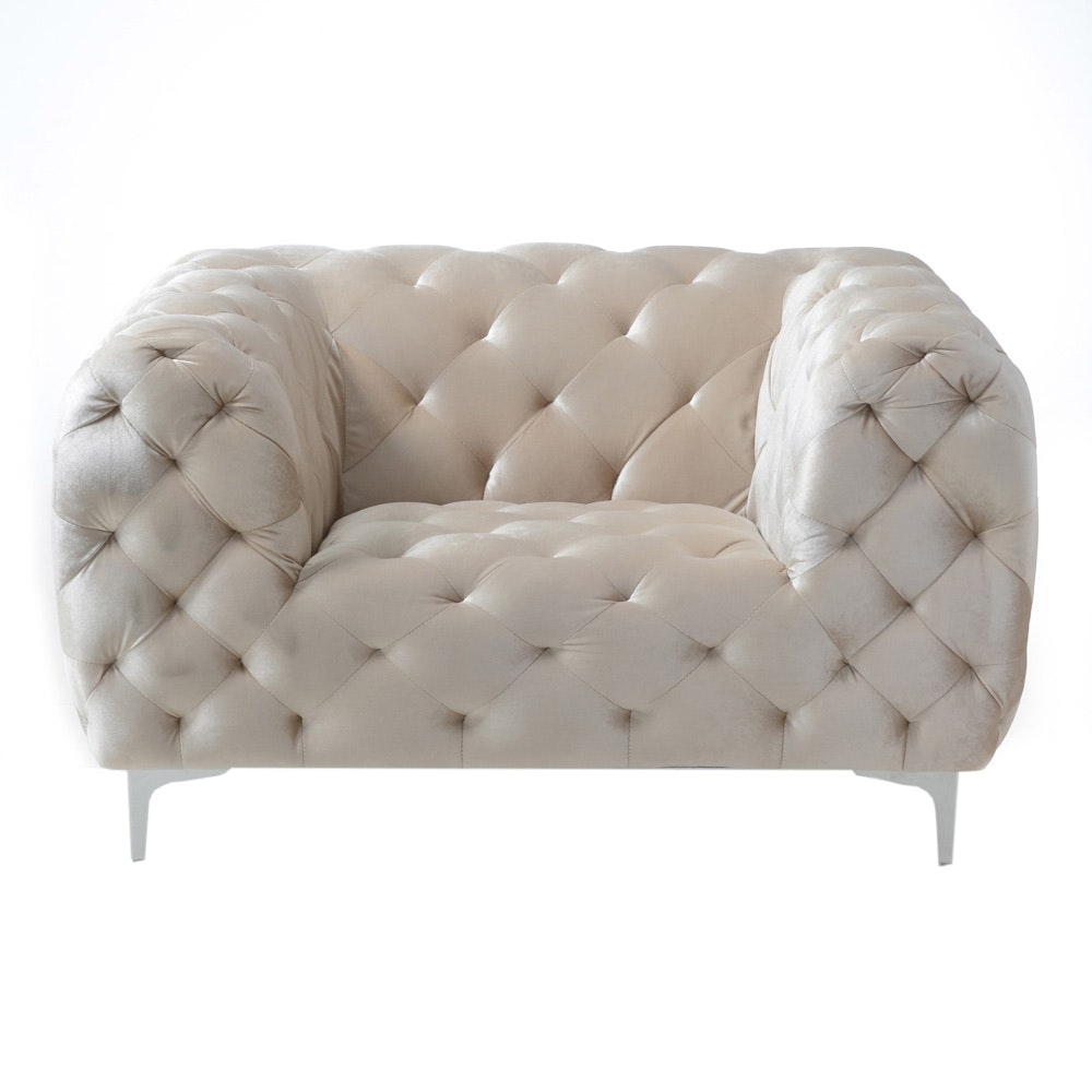 Contemporary Modern Style Armchair