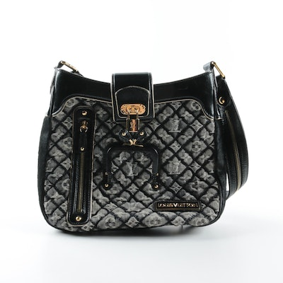 6eb7bff4d80f 2006 Louis Vuitton Limited Edition Quilted Denim Musette