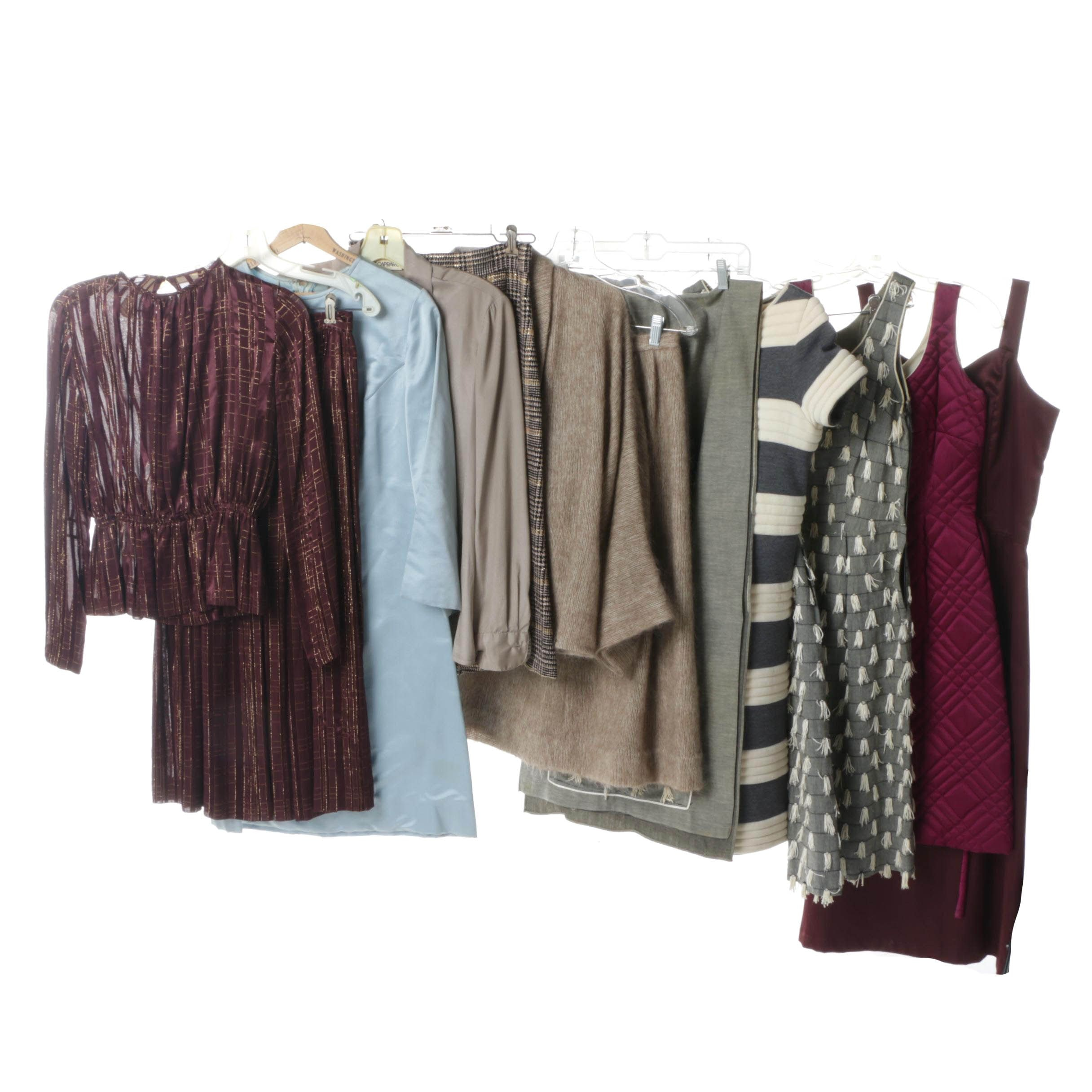 Women's Vintage Separates and Dresses Including Monte Streitfield