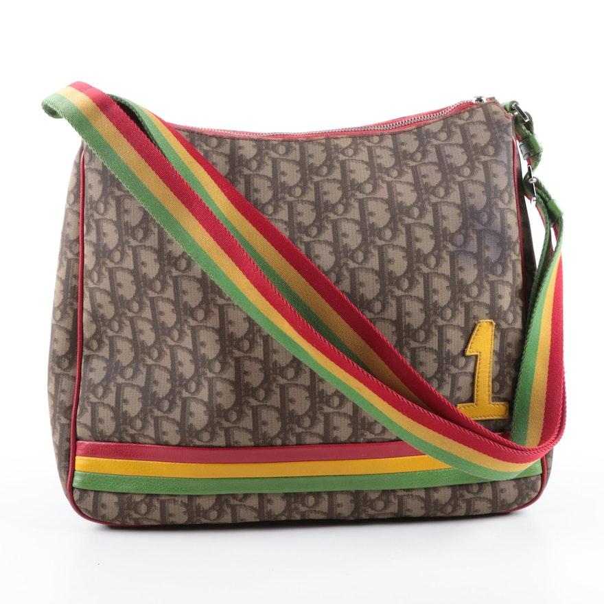 cc1937d1b7fe Christian Dior Trotter Rasta Messenger Bag   EBTH
