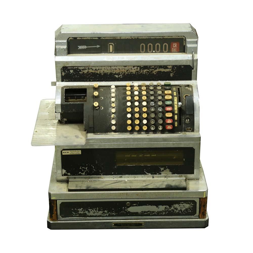 Vintage Mid Twentieth Century Cash Register