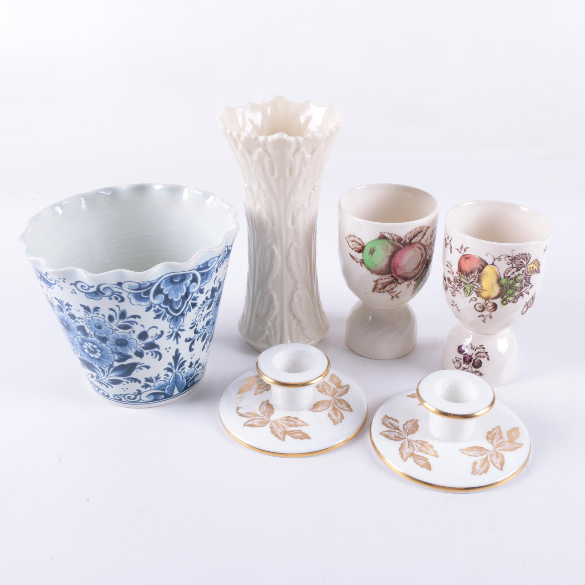 Wedgwood, Lenox and Delft Décor