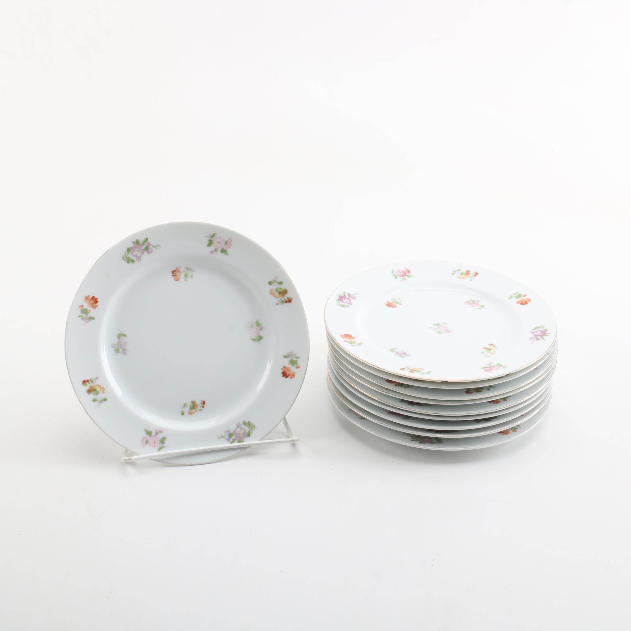Vintage Noritake Porcelain Plates