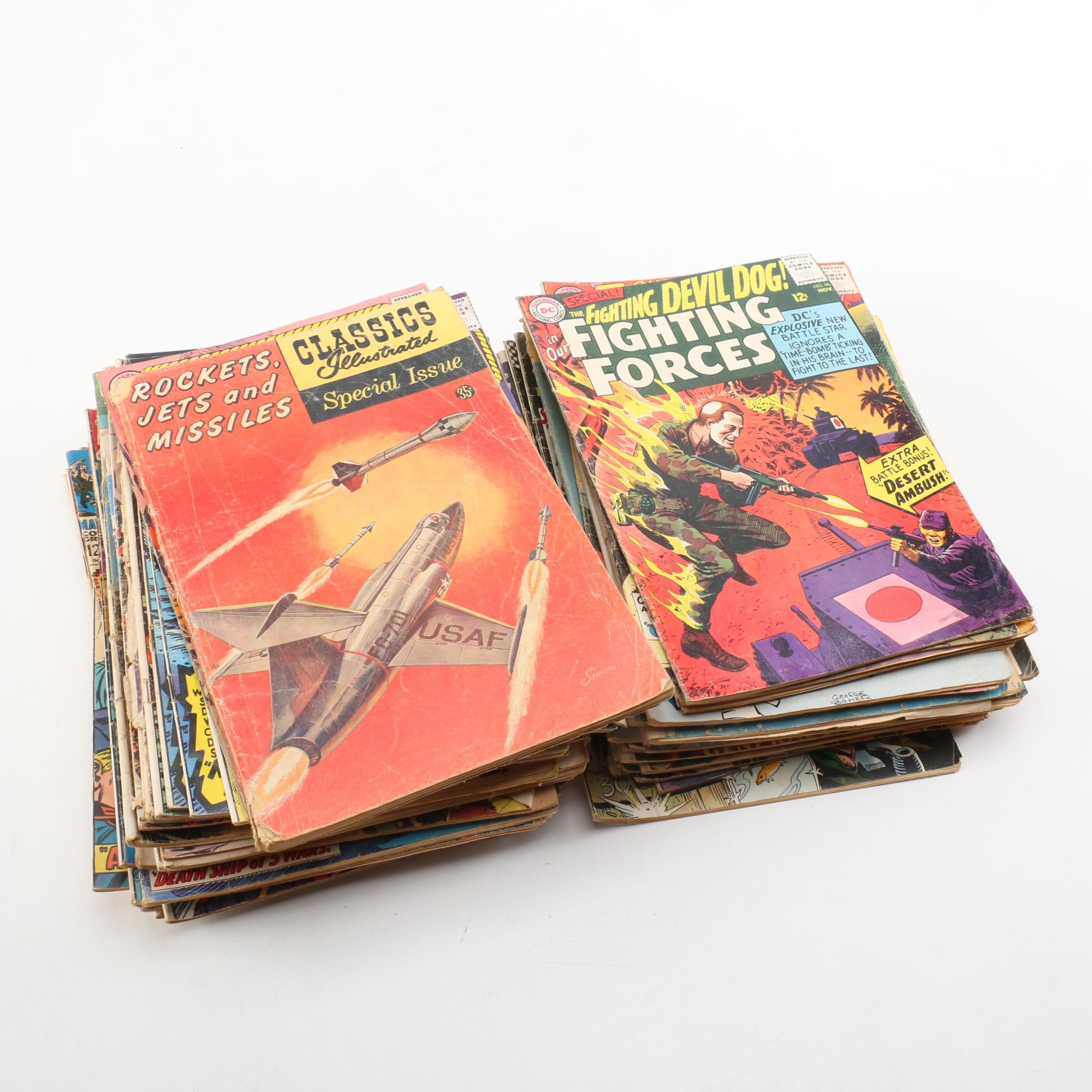 "Assorted Silver-Age Comic Books Including ""Capt. Storm"""