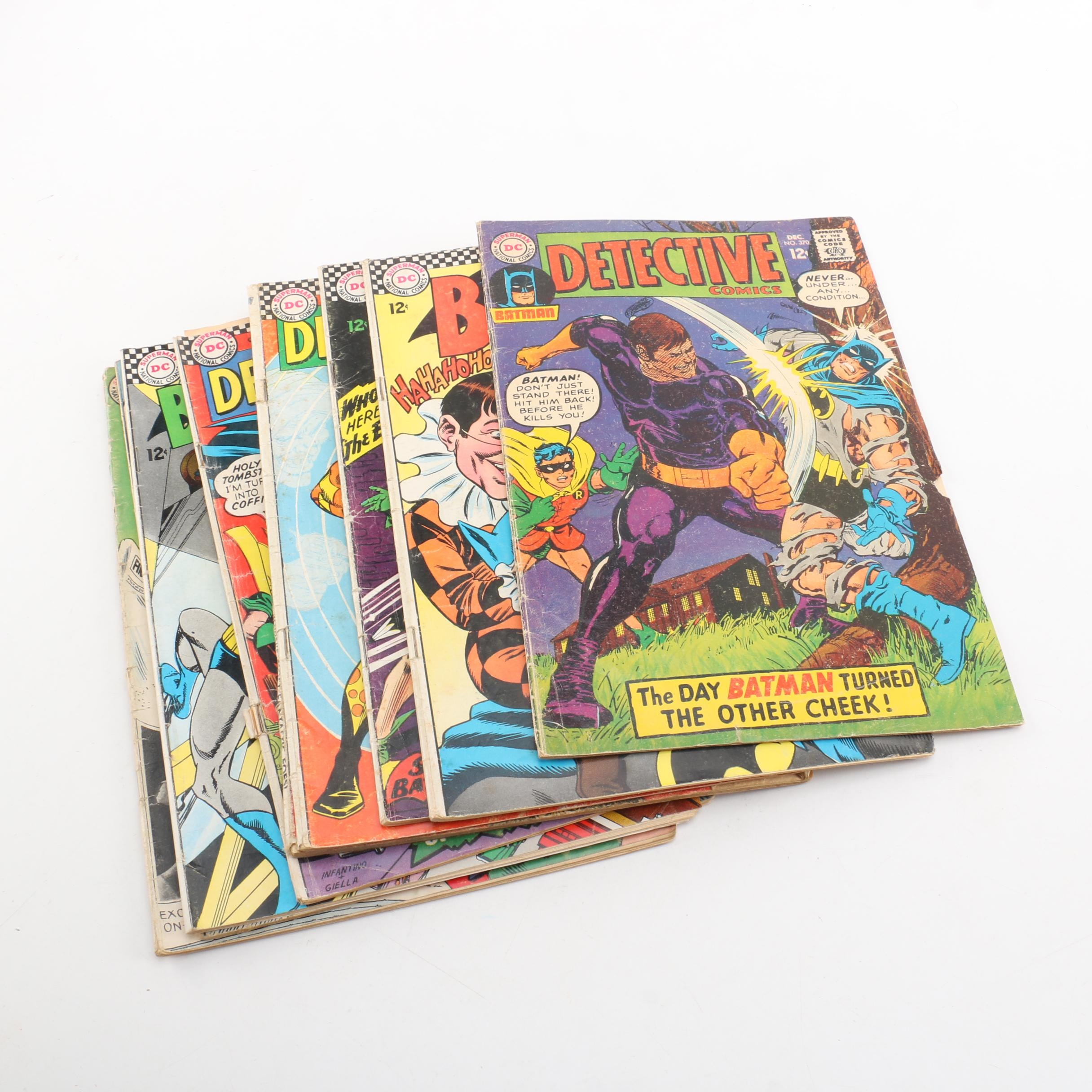 "Silver Age DC ""Detective Comics"" and ""Batman"" Comic Books"